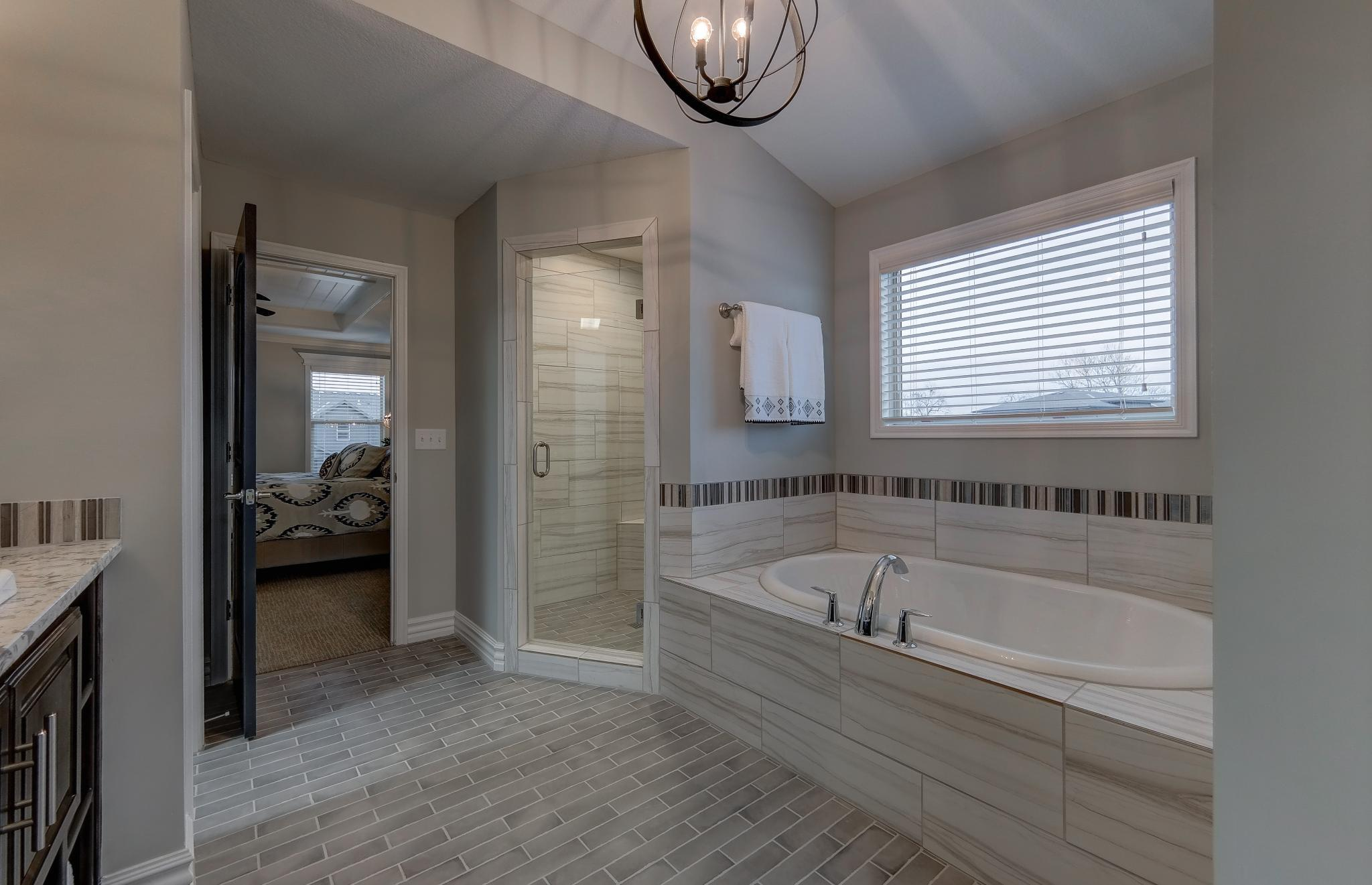 Bathroom featured in the Charleston By Summit Homes in Kansas City, KS