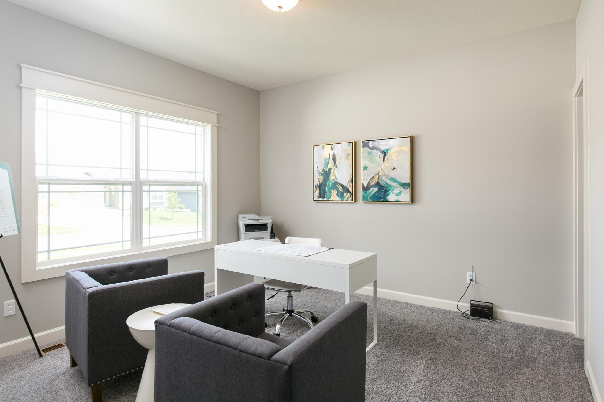 Living Area featured in the Meadowbrook By Summit Homes in Kansas City, MO