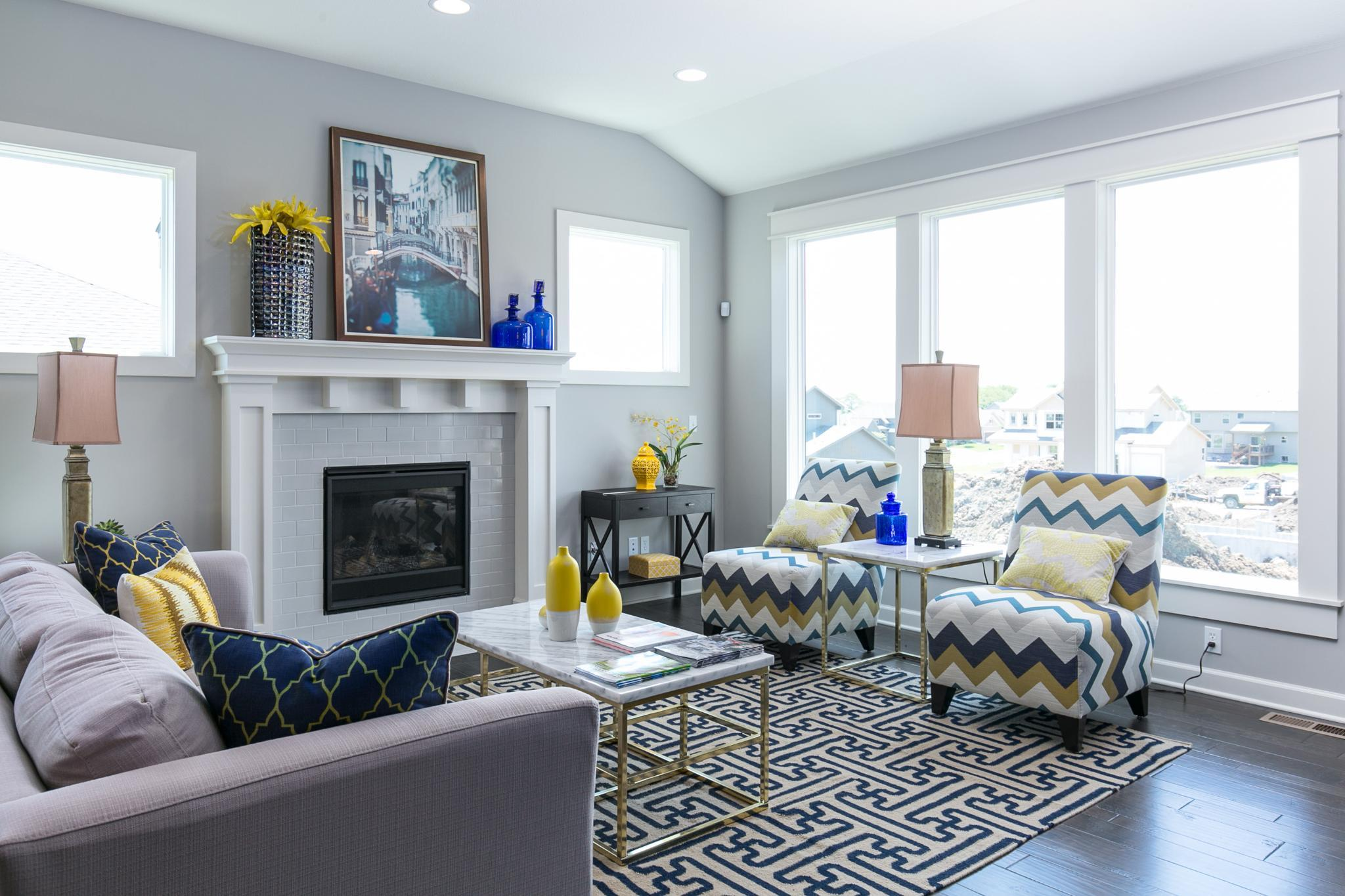 Living Area featured in the Meadowbrook By Summit Homes in Kansas City, KS