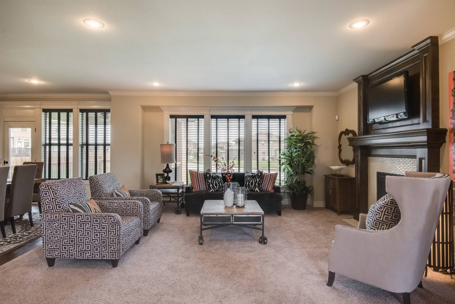 Living Area featured in the Prescott By Summit Homes in Kansas City, MO