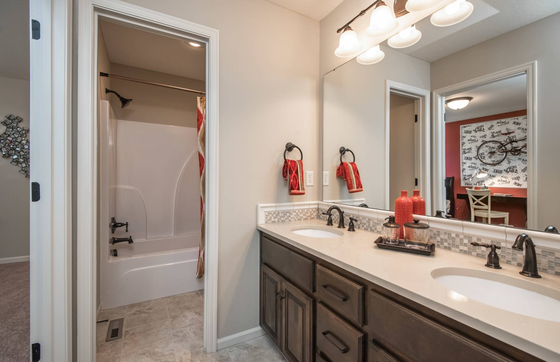Bathroom featured in the Prescott By Summit Homes in Kansas City, KS