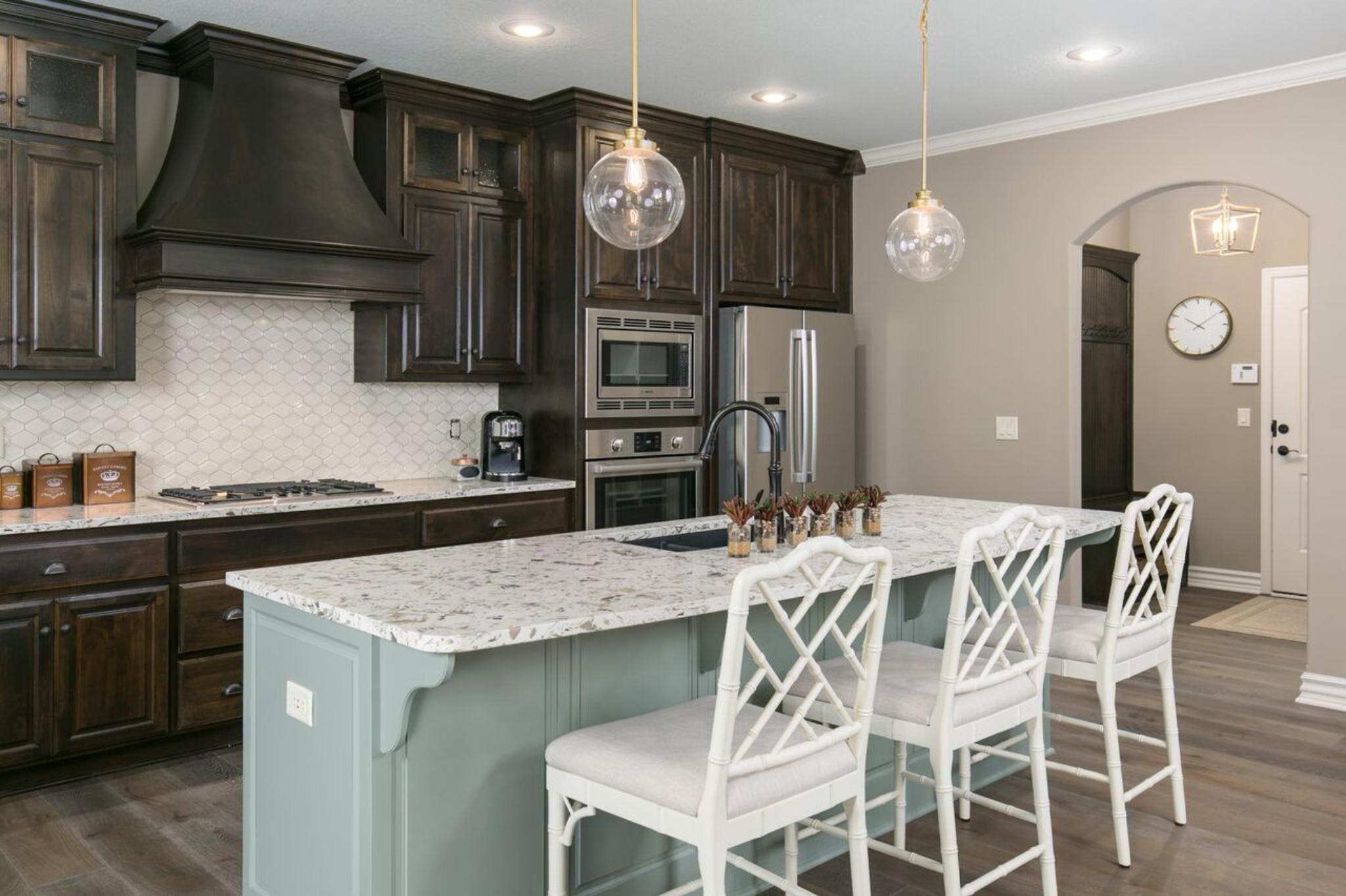 Kitchen featured in the Torino By Summit Homes in Kansas City, MO