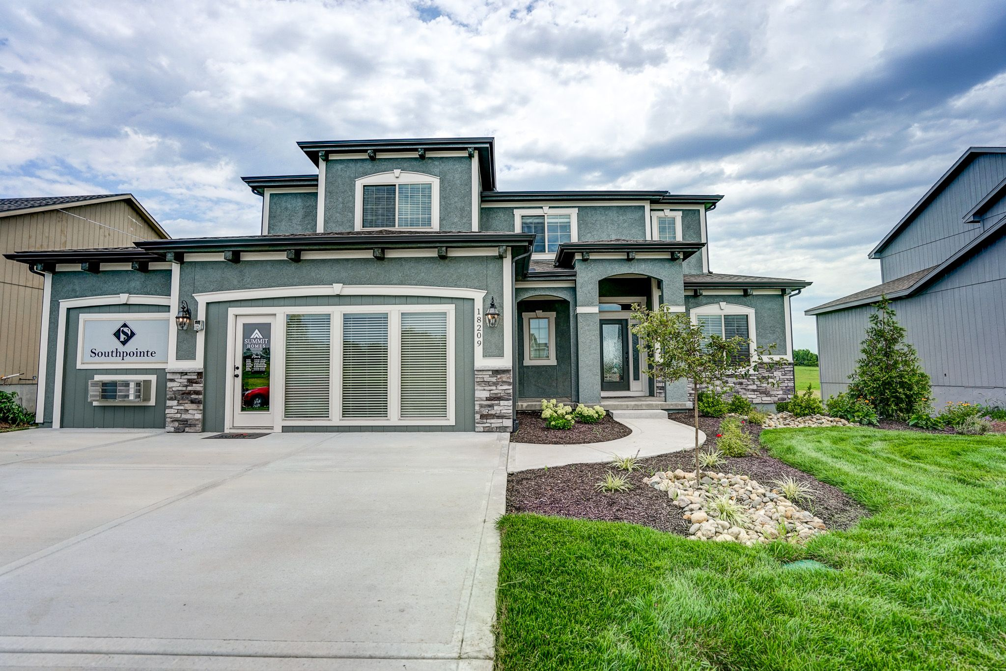 Exterior featured in the Valentia By Summit Homes in Kansas City, MO