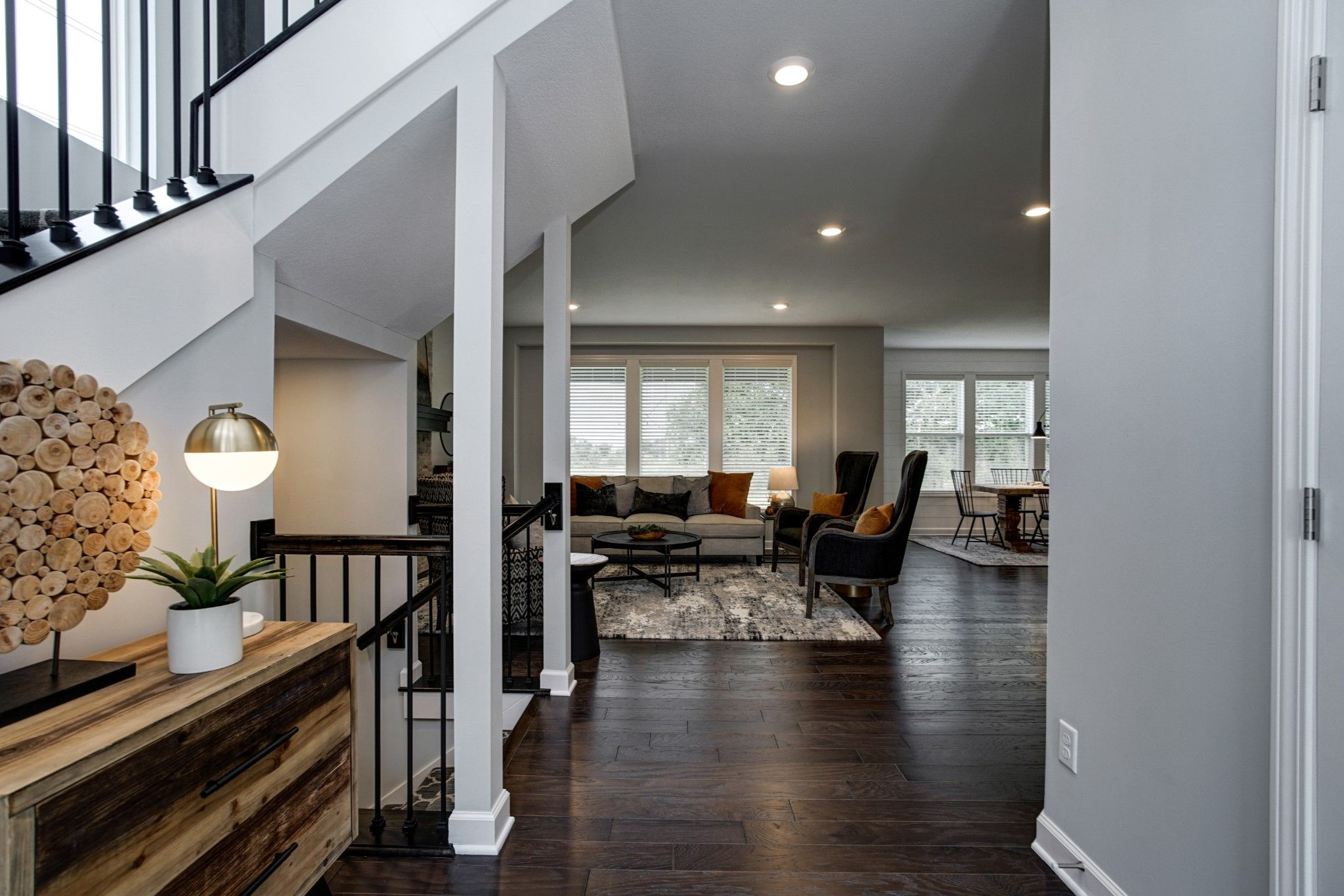 Living Area featured in the Palmer - IA By Summit Homes in Des Moines, IA