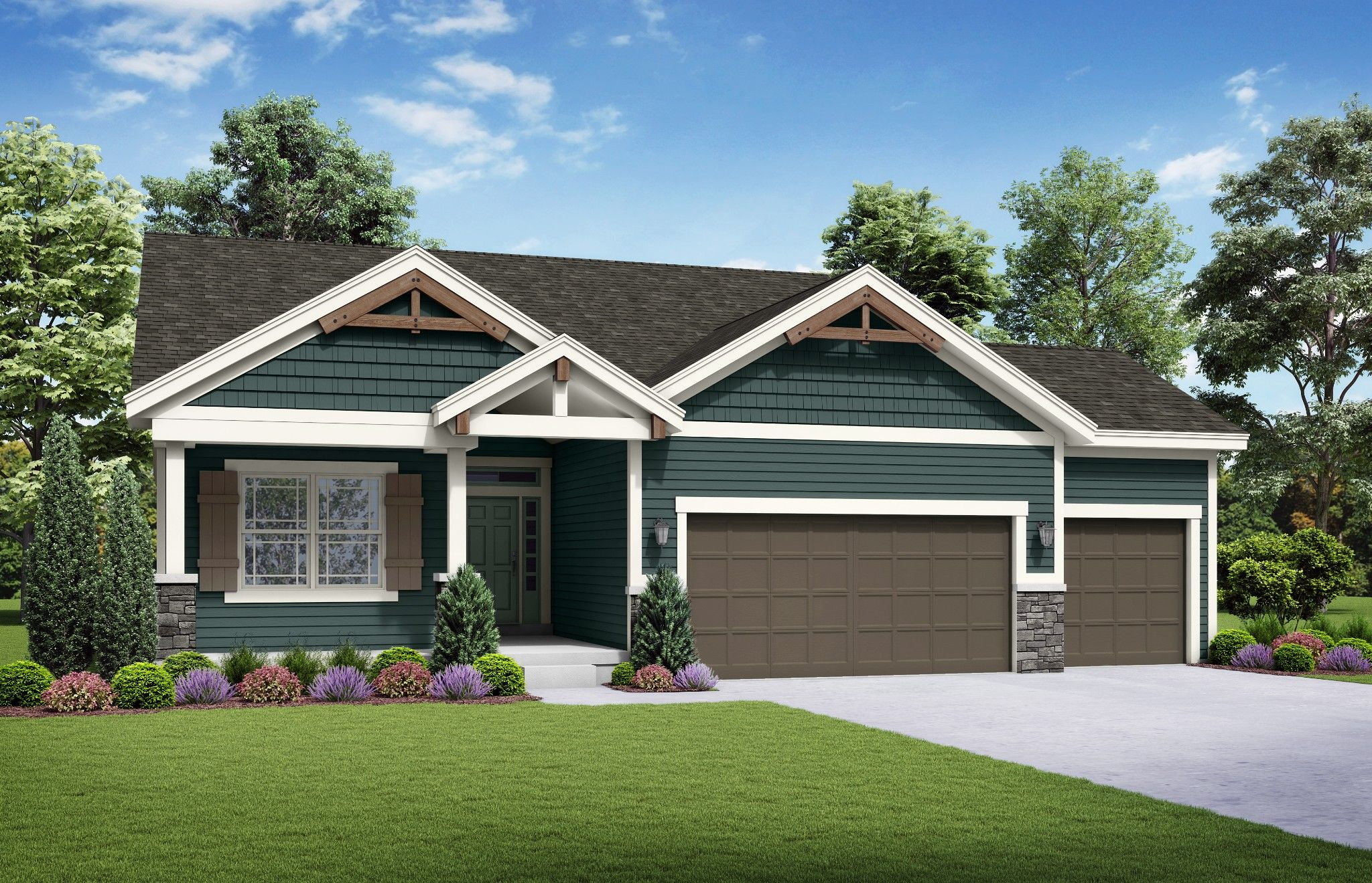 Exterior featured in the Bradford By Summit Homes in Kansas City, MO