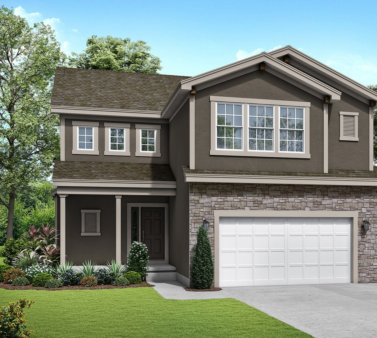 Exterior featured in the Hemingway - IA By Summit Homes in Des Moines, IA