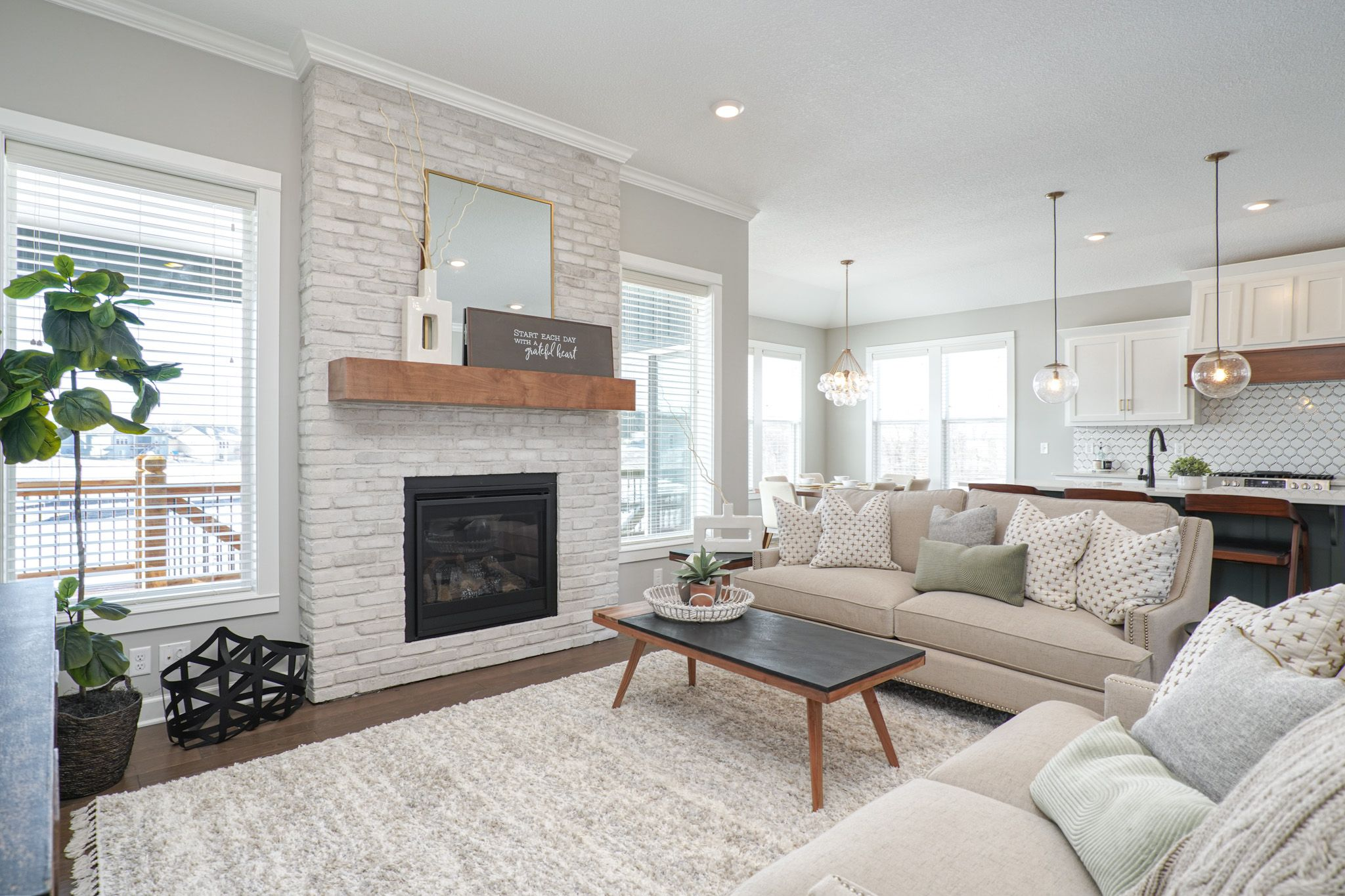 Living Area featured in the Newhaven By Summit Homes in Kansas City, MO