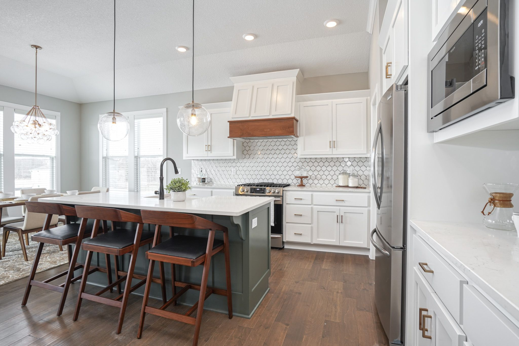Kitchen featured in the Newhaven By Summit Homes in Kansas City, MO