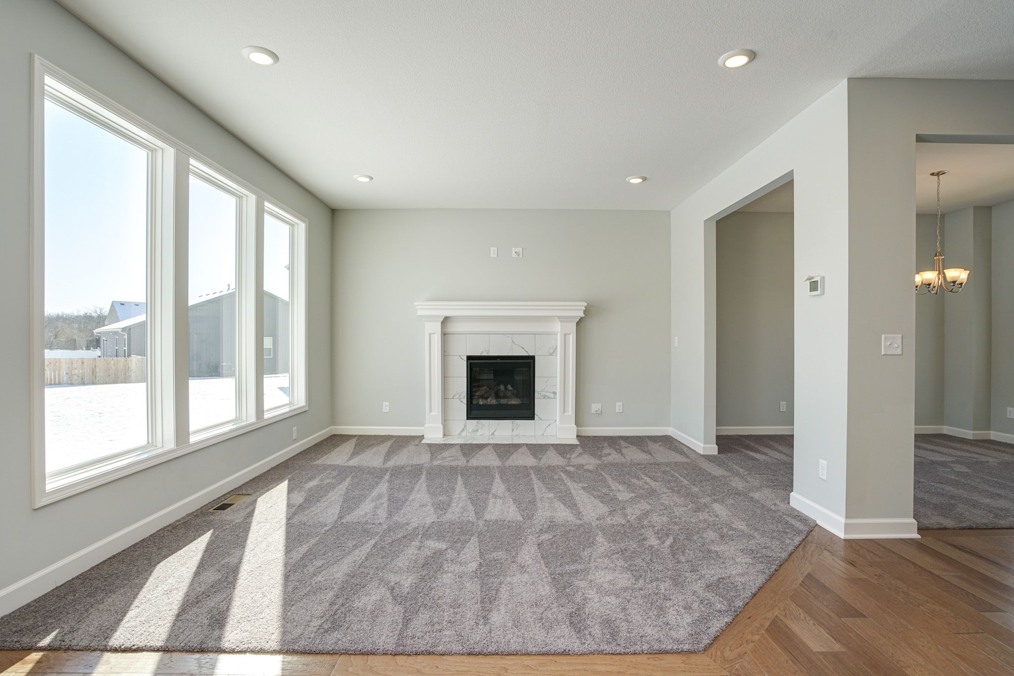 Living Area featured in the Brookside By Summit Homes in Kansas City, MO