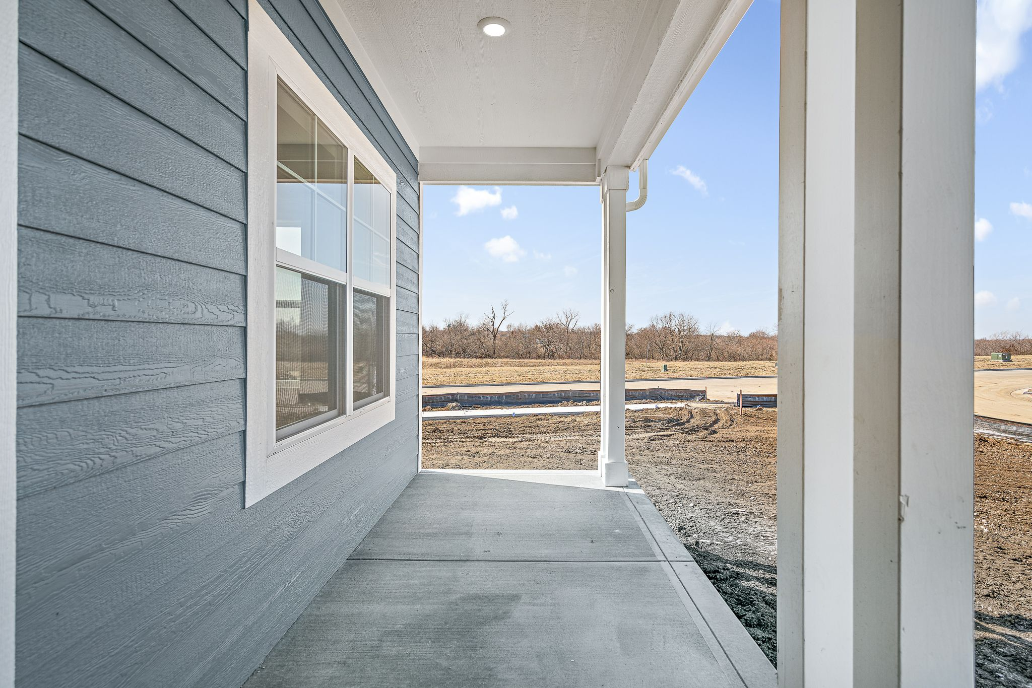 Exterior featured in the Canterbury By Summit Homes in Kansas City, KS