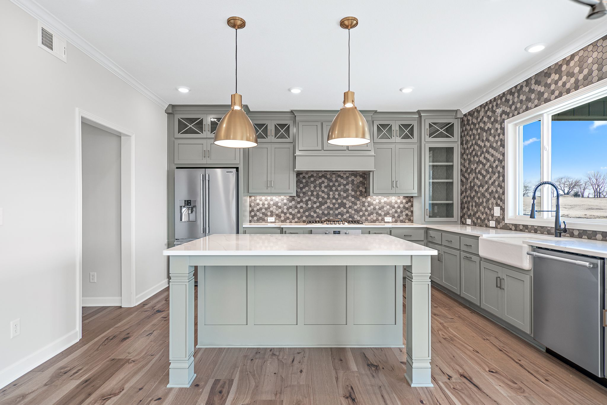 Kitchen featured in the Canterbury By Summit Homes in Kansas City, MO