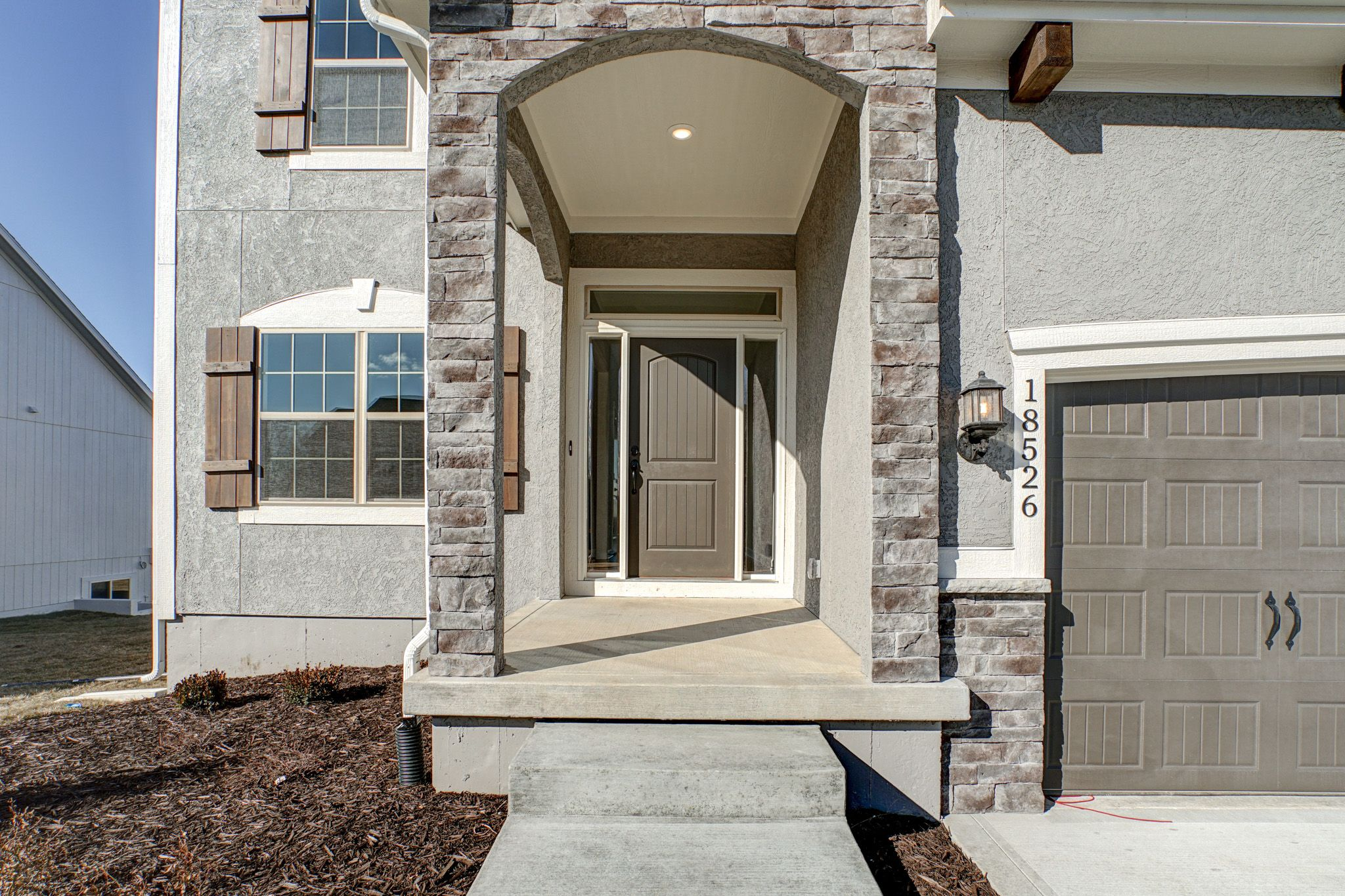 Exterior featured in the Winfield - IA By Summit Homes in Des Moines, IA