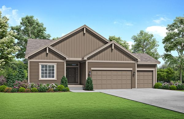 Exterior featured in the Somerset - Care Free By Summit Homes in Kansas City, MO