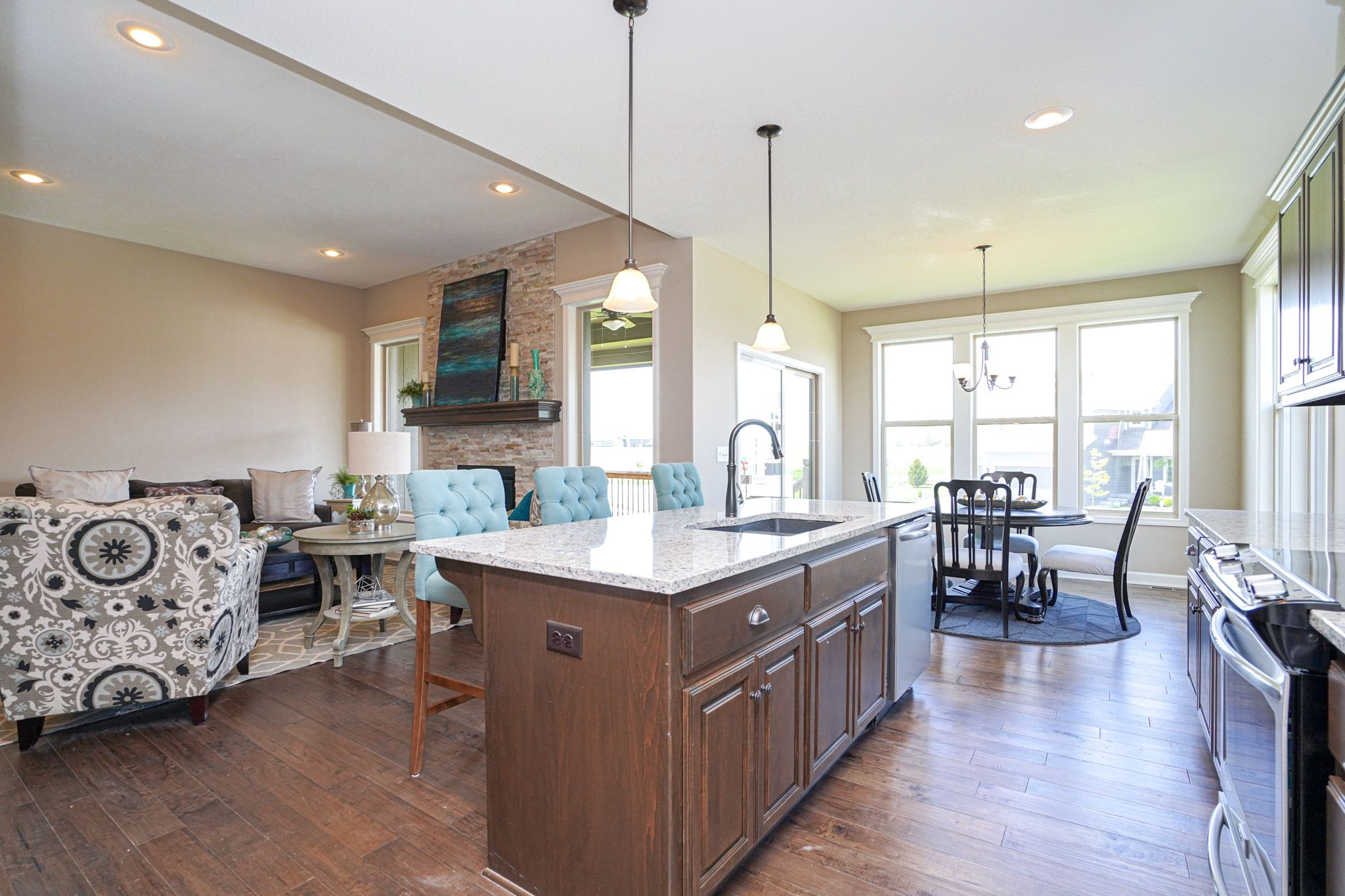 Kitchen featured in the Charlotte - IA By Summit Homes in Des Moines, IA