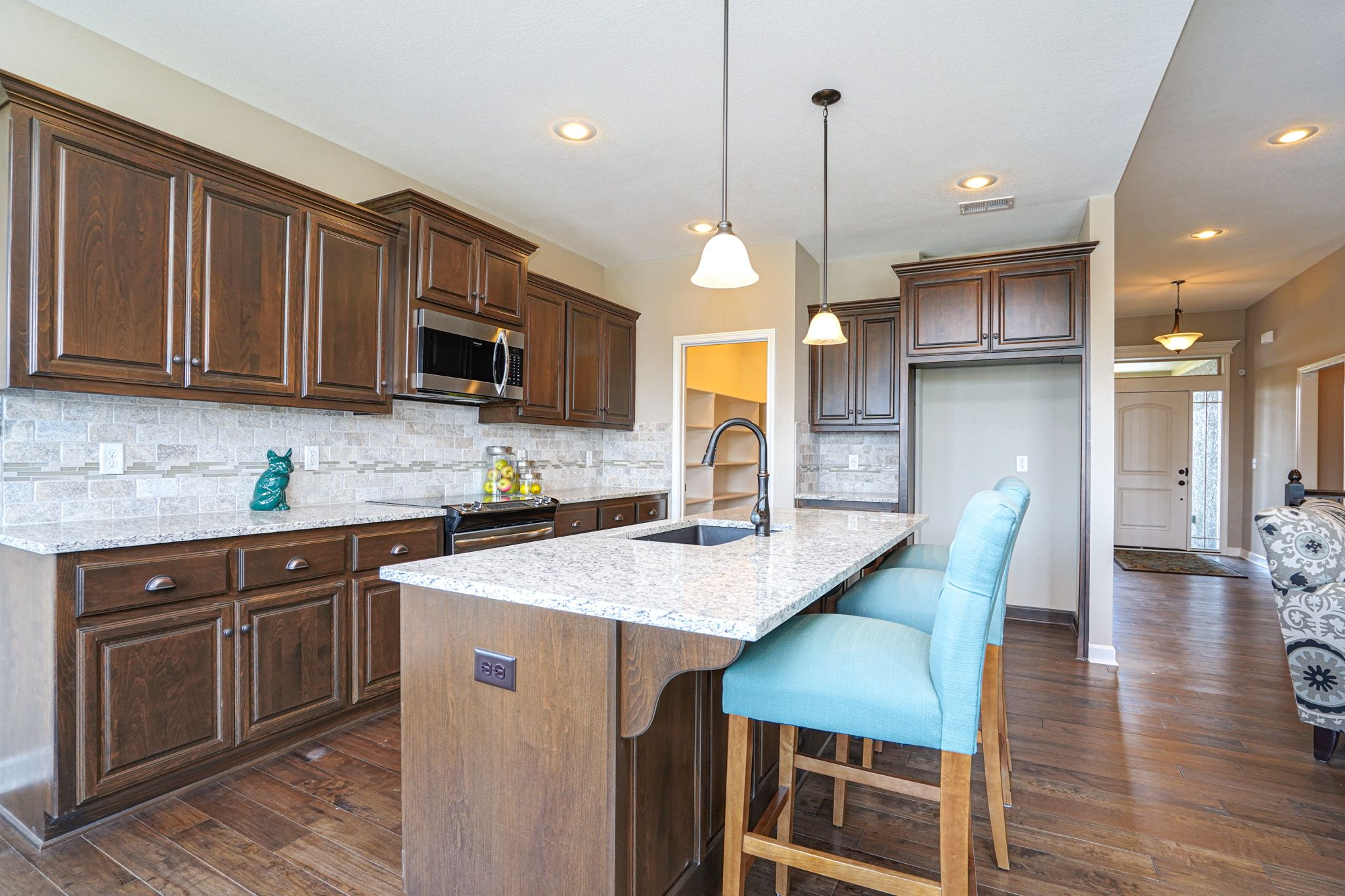 Kitchen featured in the Cypress - Care free By Summit Homes in Kansas City, MO