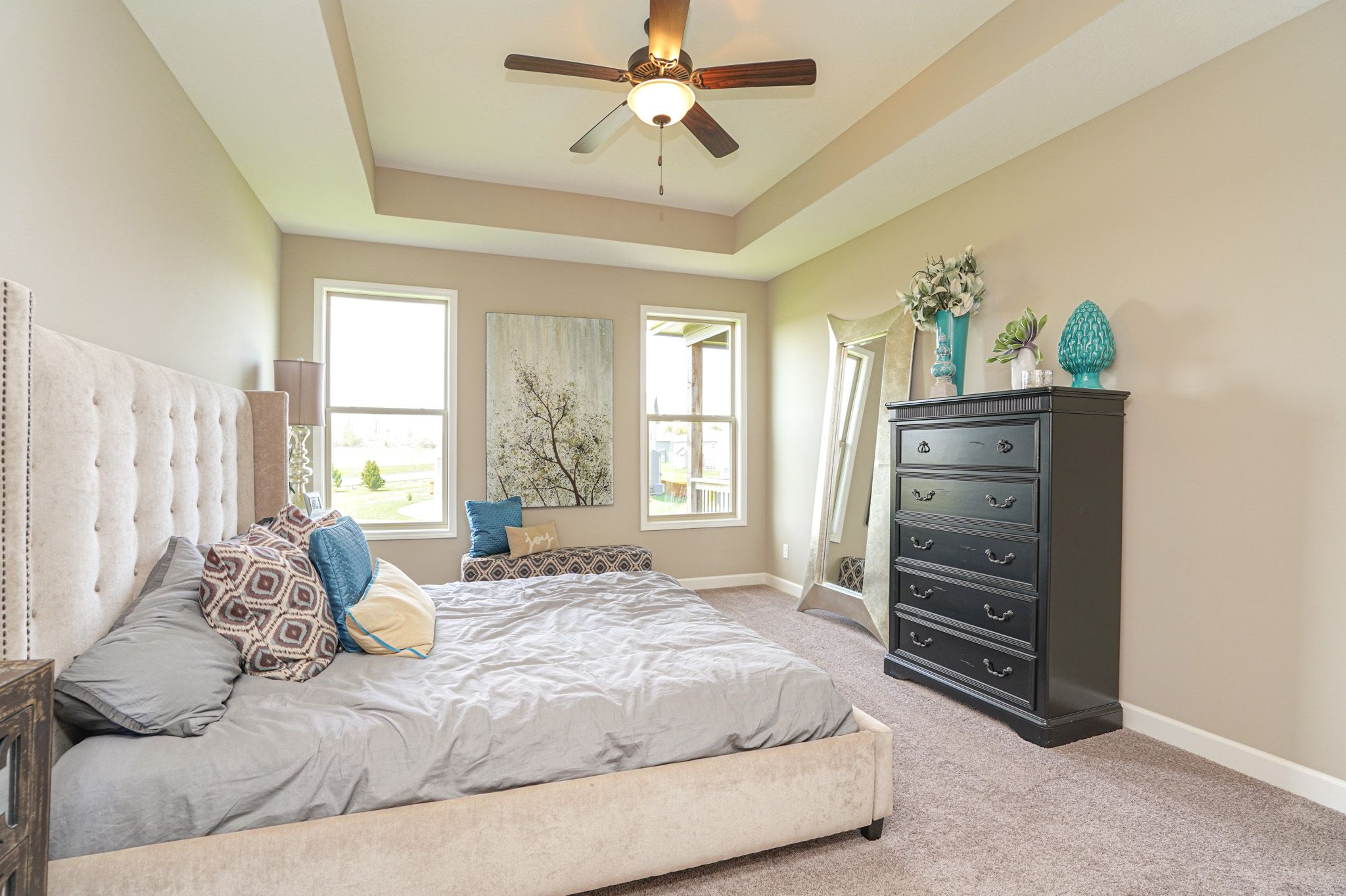 Bedroom featured in the Cypress - Care free By Summit Homes in Kansas City, MO