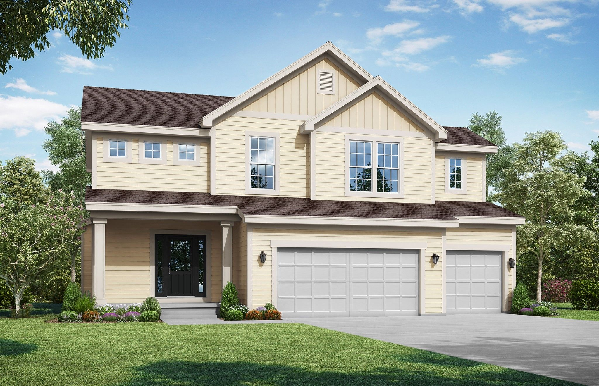 Exterior featured in the Palmer - IA By Summit Homes in Des Moines, IA