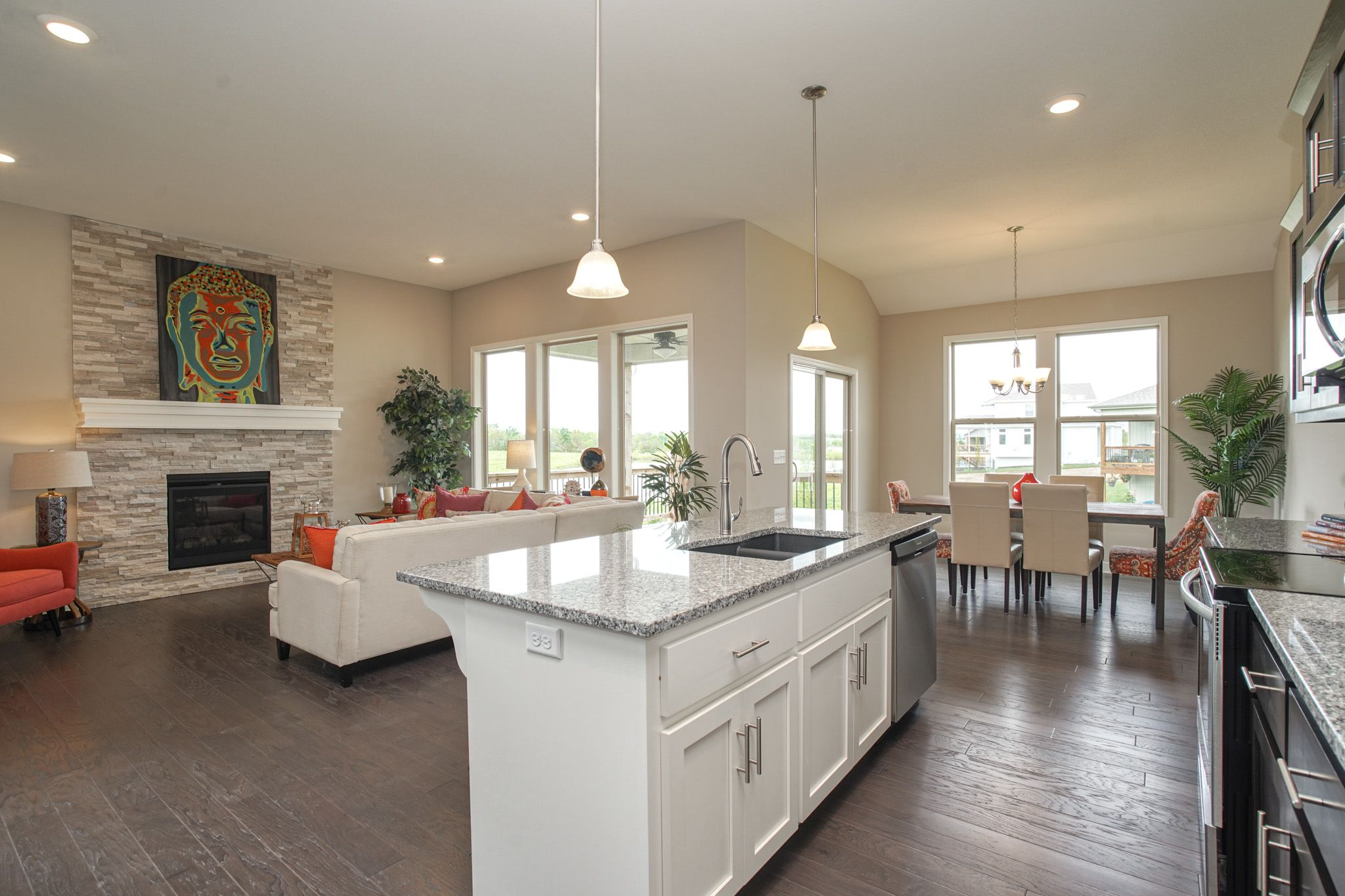 Kitchen featured in the Waterford - IA By Summit Homes in Des Moines, IA