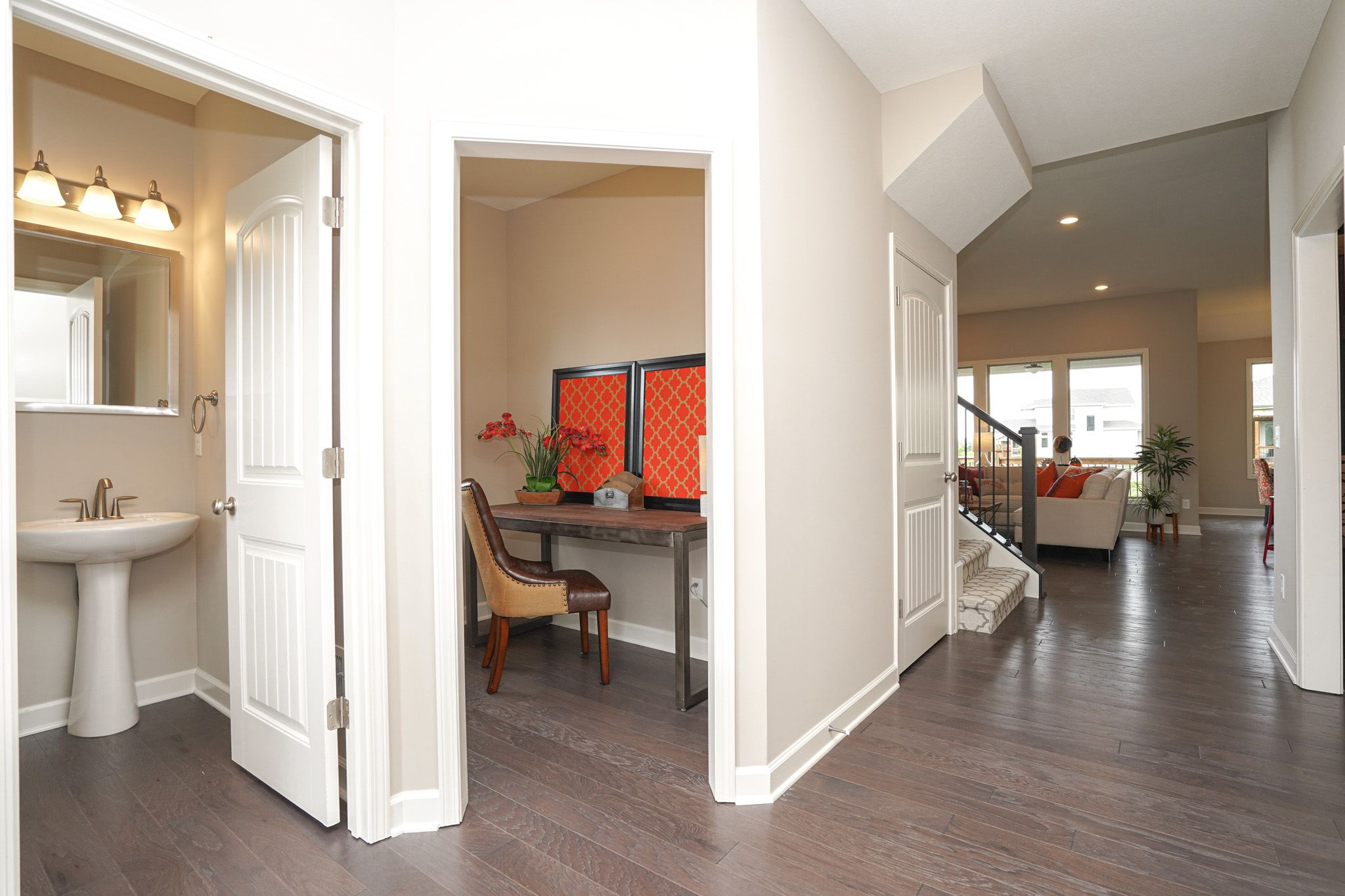 Living Area featured in the Waterford - IA By Summit Homes in Des Moines, IA