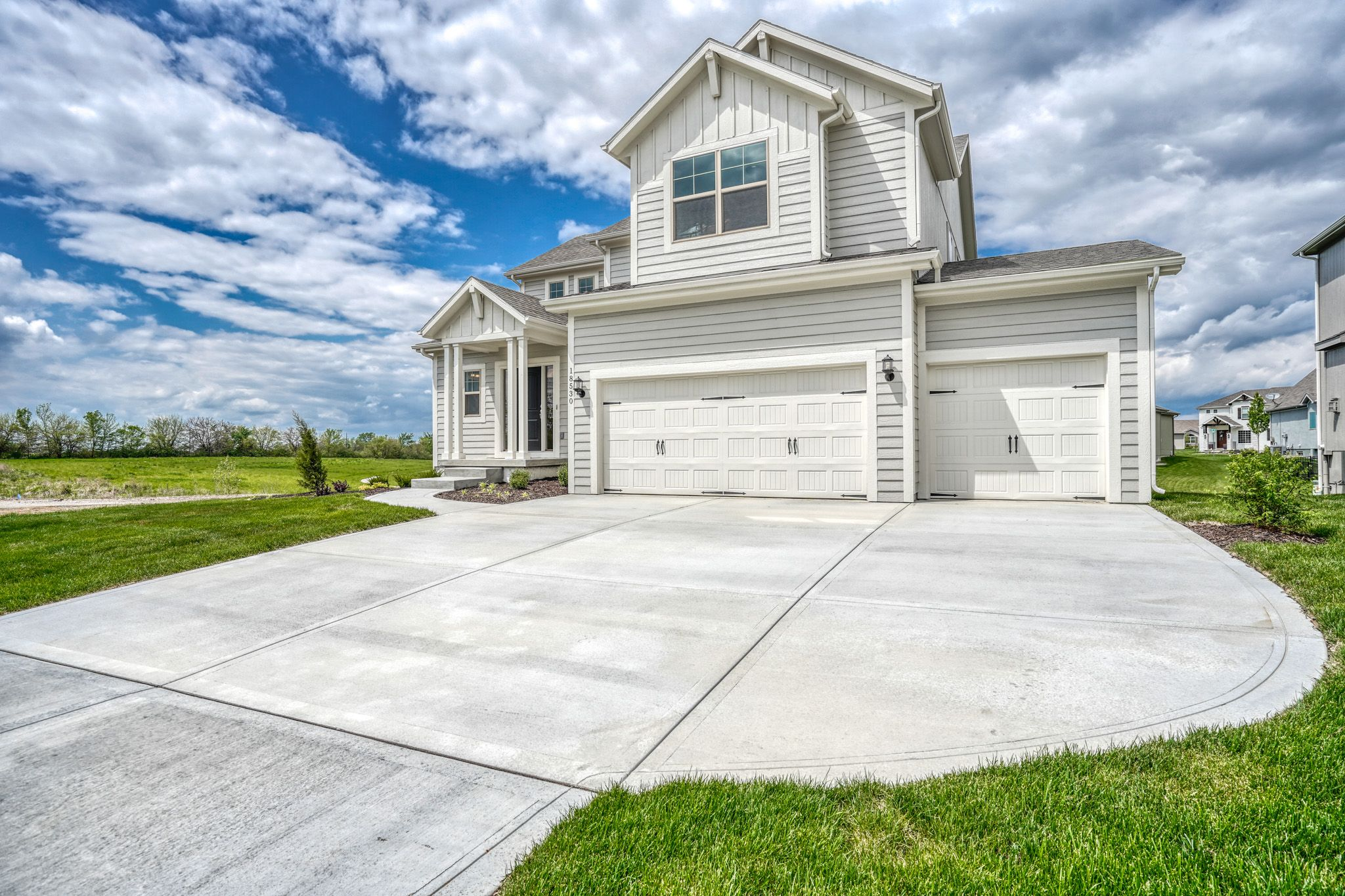 Exterior featured in the Waterford - IA By Summit Homes in Des Moines, IA