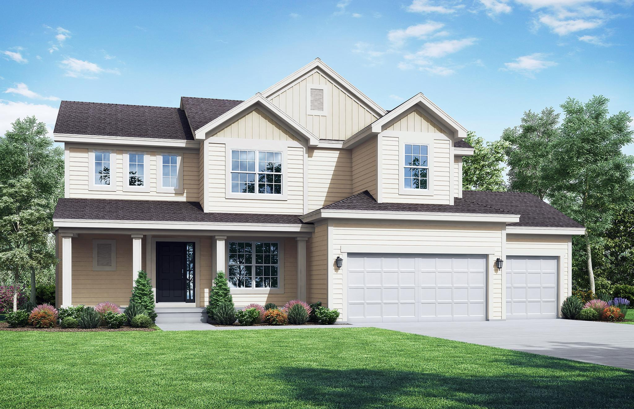 Exterior featured in the Preston Ridge By Summit Homes in Kansas City, MO