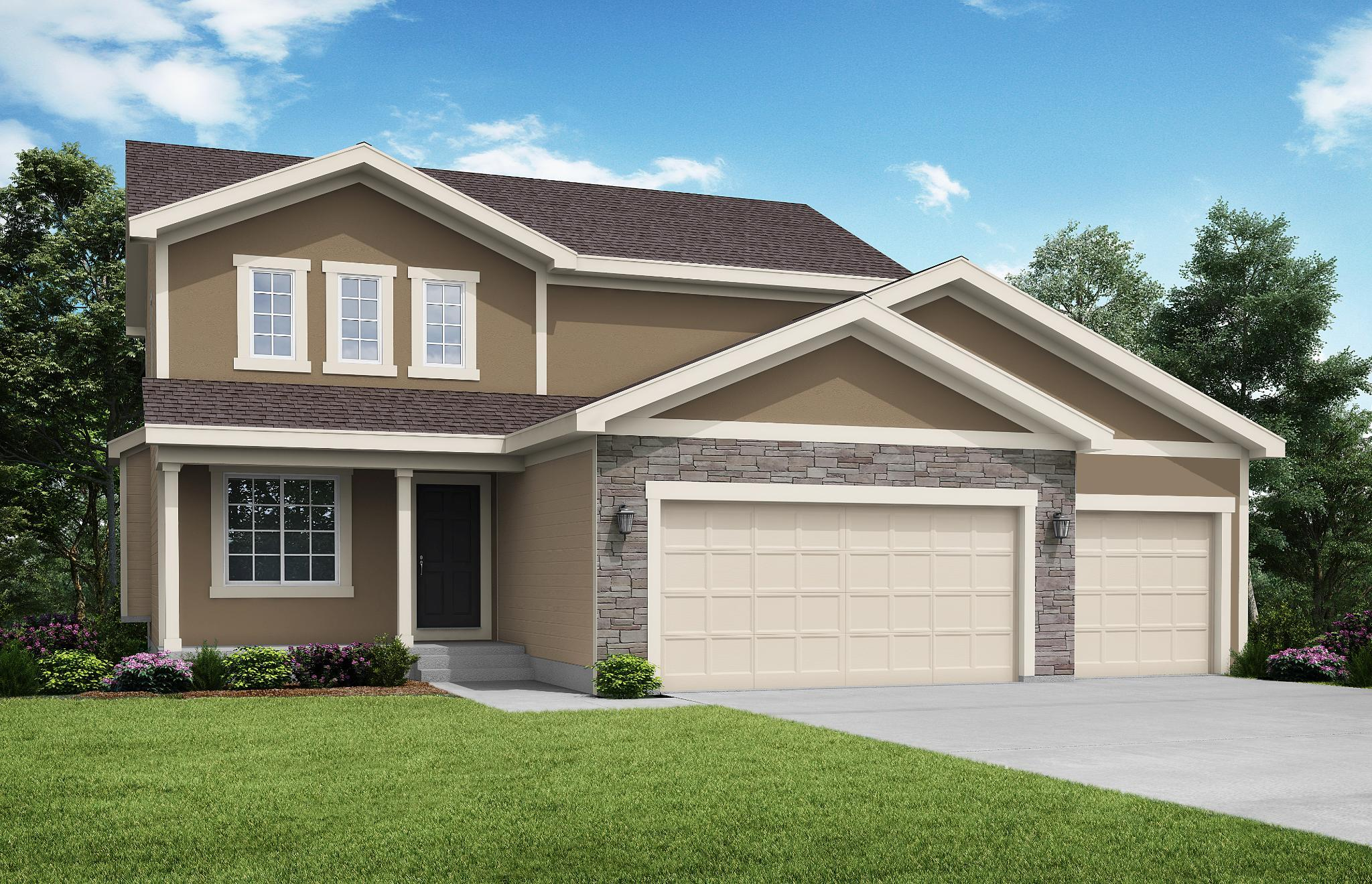 Exterior featured in the Brookside - IA By Summit Homes in Des Moines, IA