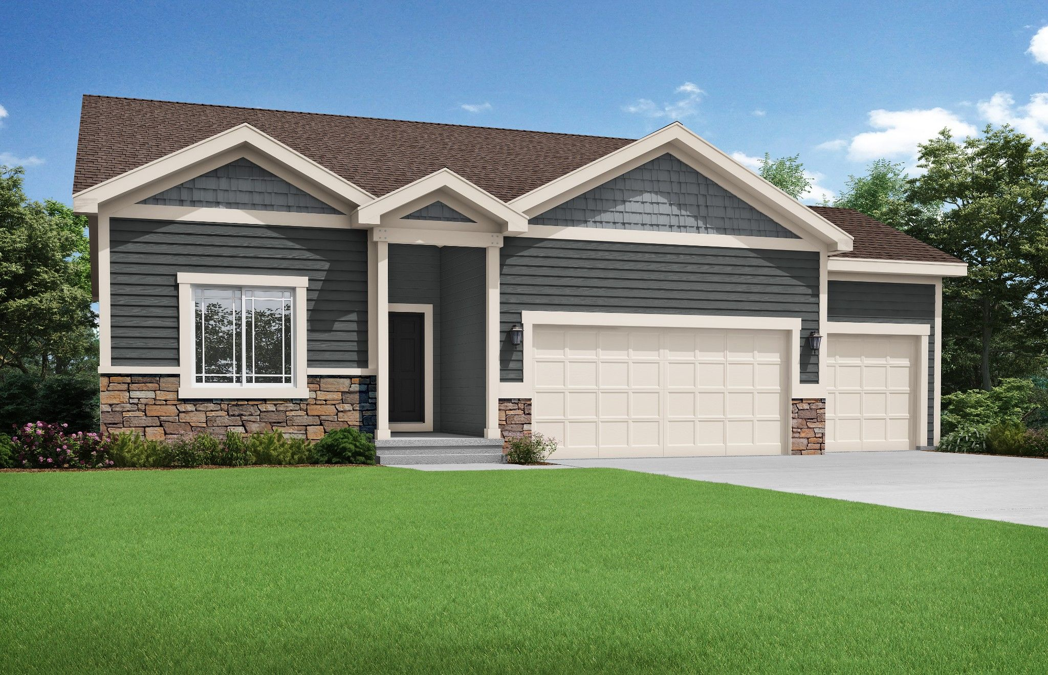 Exterior featured in the Westport By Summit Homes in Kansas City, MO