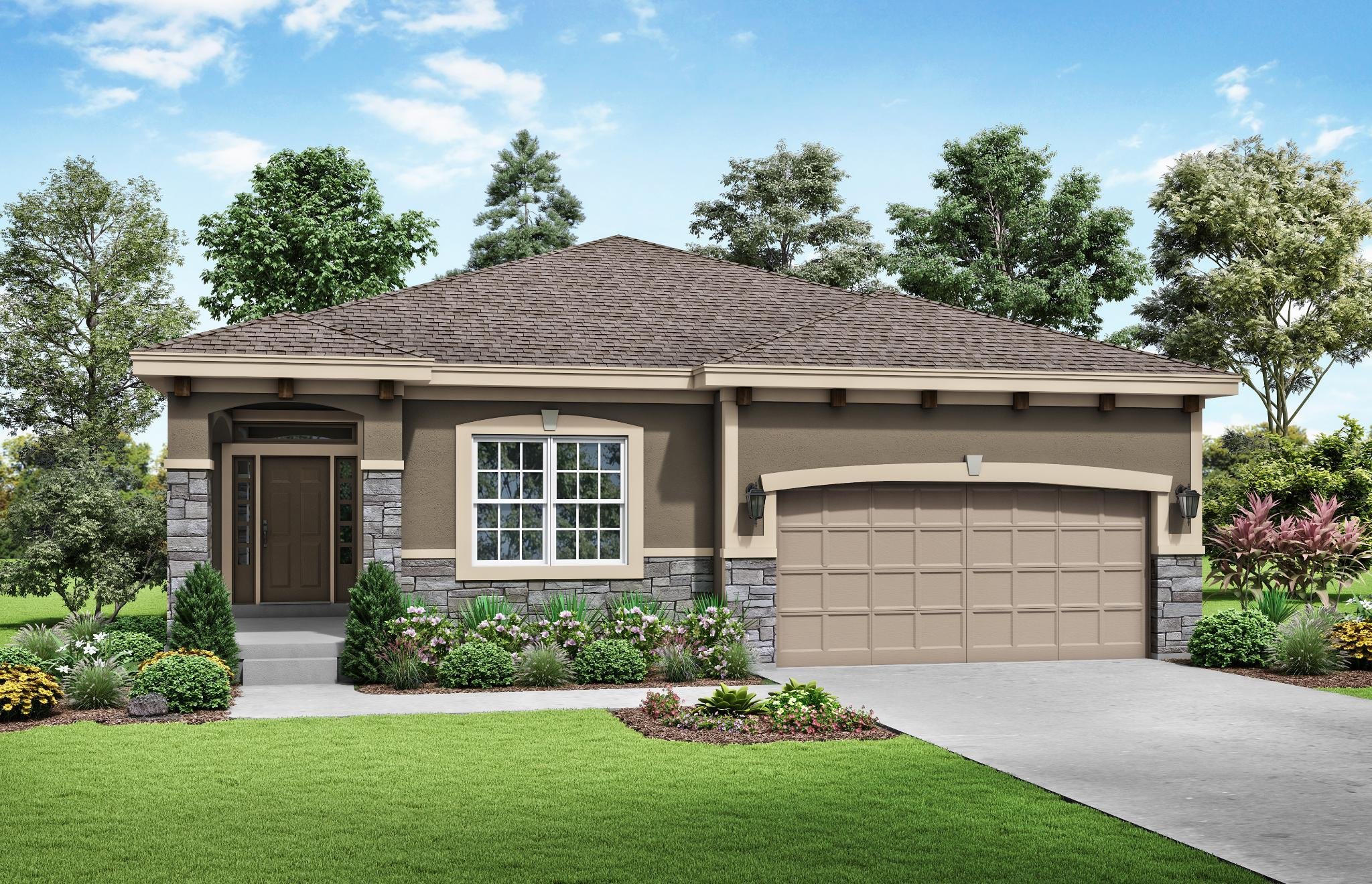 Exterior featured in the Moorefield - Care Free By Summit Homes in Kansas City, KS