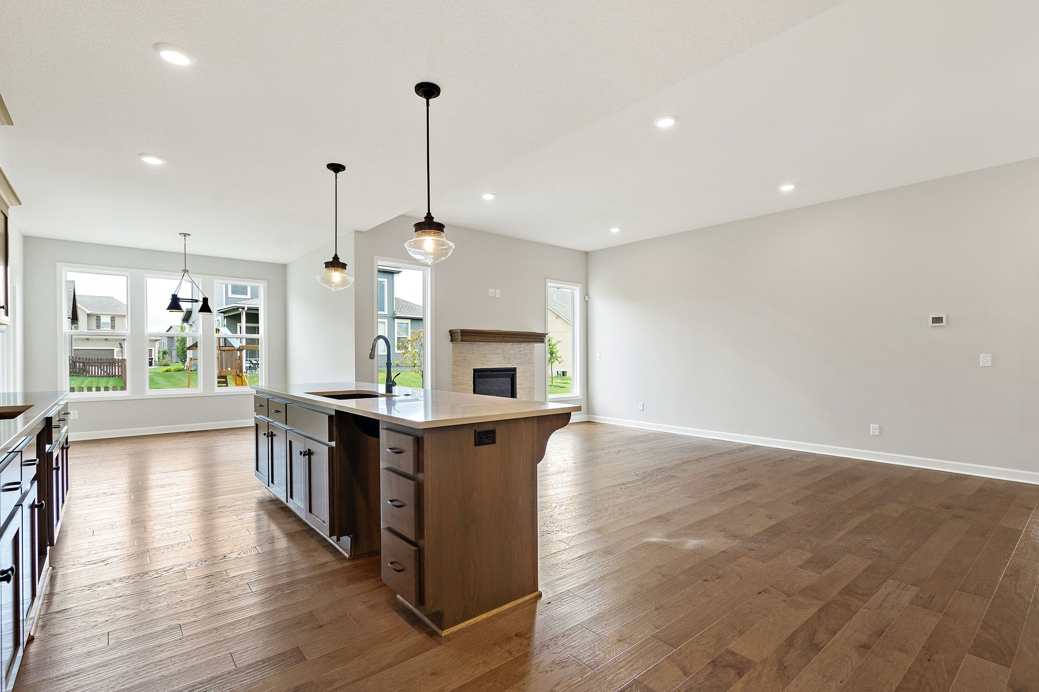 Kitchen featured in the Linden By Summit Homes in Kansas City, MO