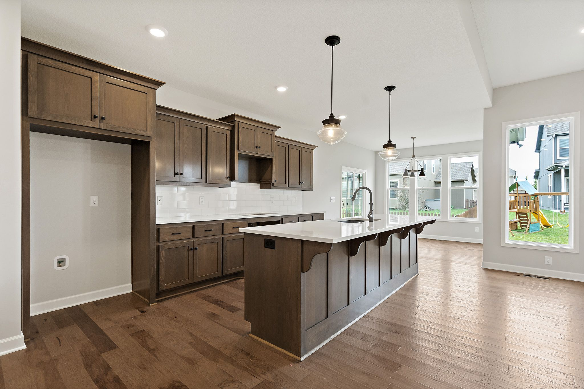 Kitchen featured in the Linden - IA By Summit Homes in Des Moines, IA