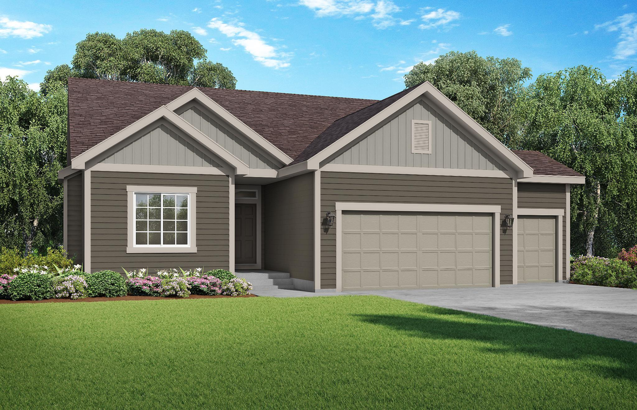 Exterior featured in the Roanoke By Summit Homes in Kansas City, MO