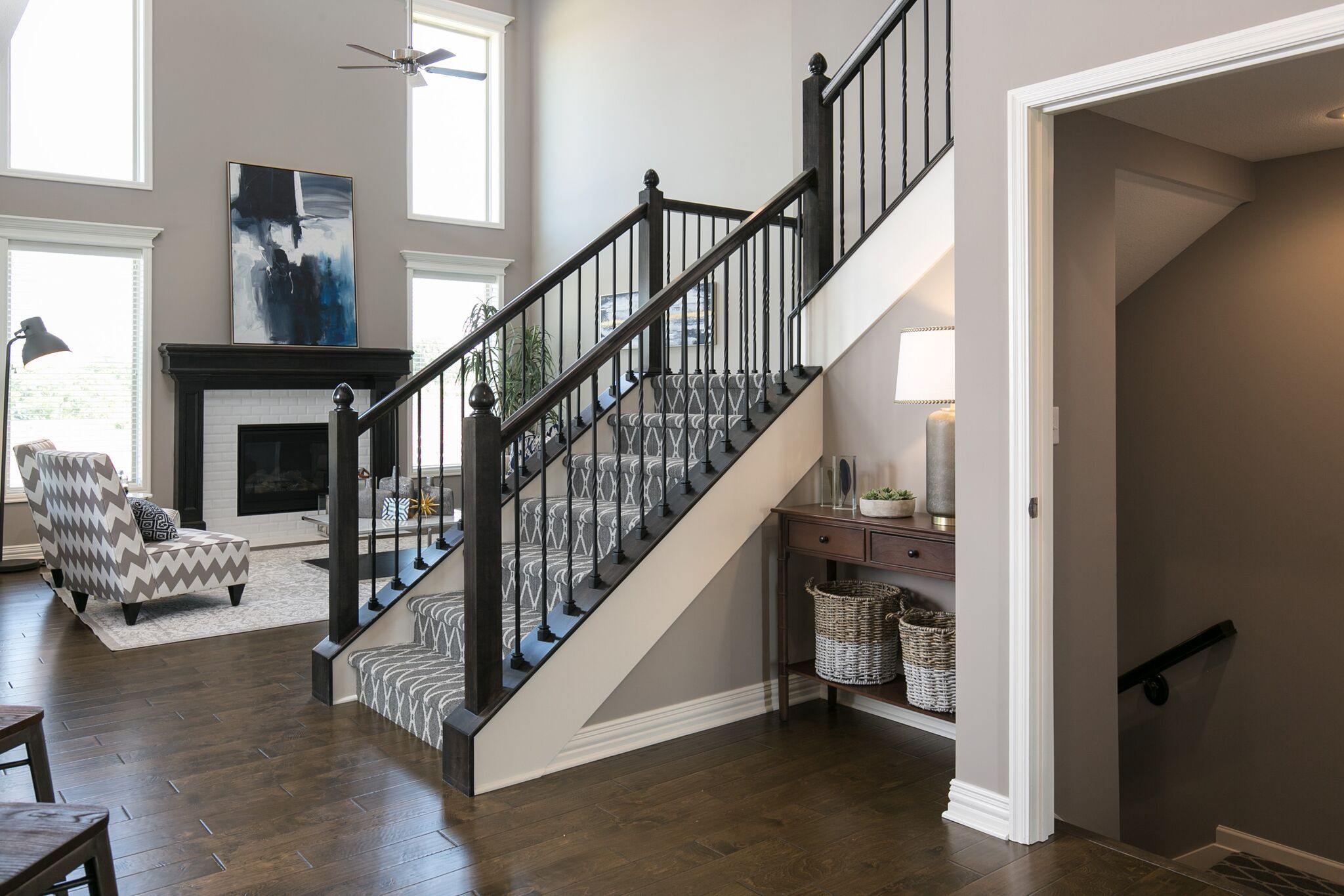 Living Area featured in the Bayfield - IA By Summit Homes in Des Moines, IA