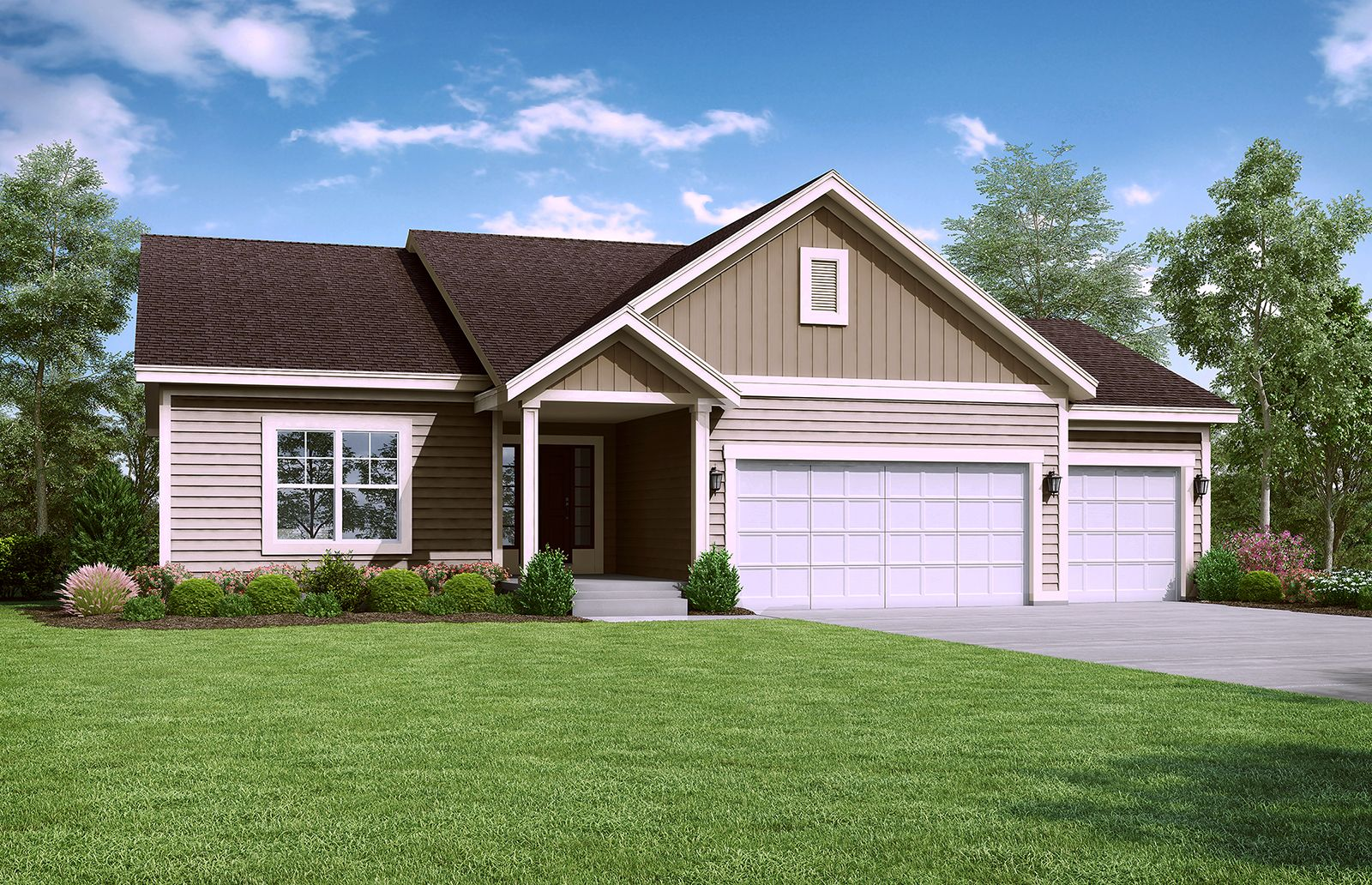 Exterior featured in the Carbondale - IA By Summit Homes in Des Moines, IA