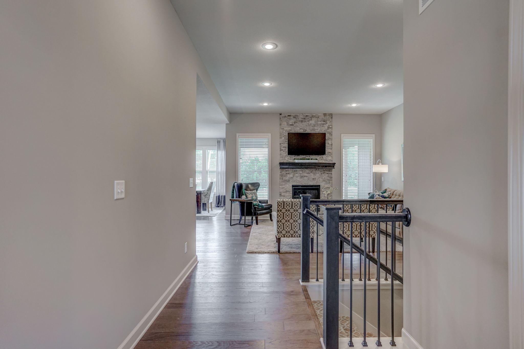 Living Area featured in the Cypress - IA By Summit Homes in Des Moines, IA