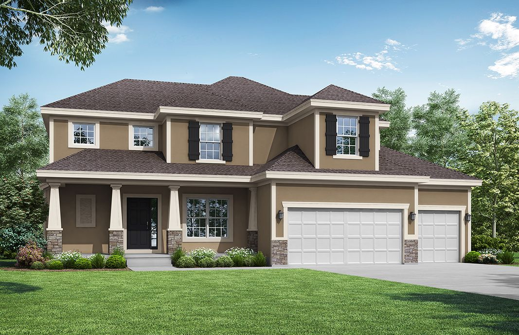 Exterior featured in the Preston Ridge - IA By Summit Homes in Des Moines, IA