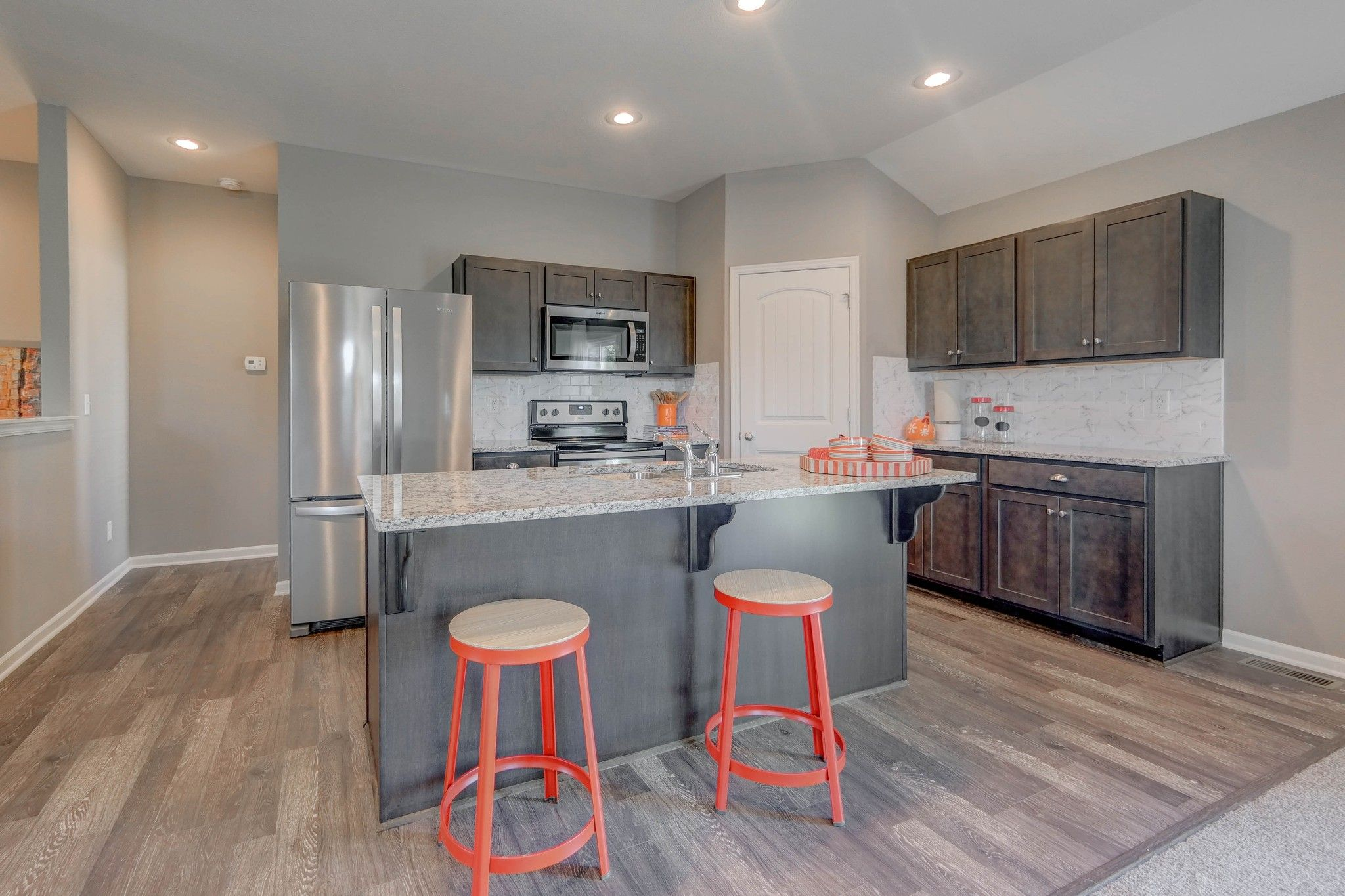 Kitchen featured in the Roanoke - IA By Summit Homes in Des Moines, IA