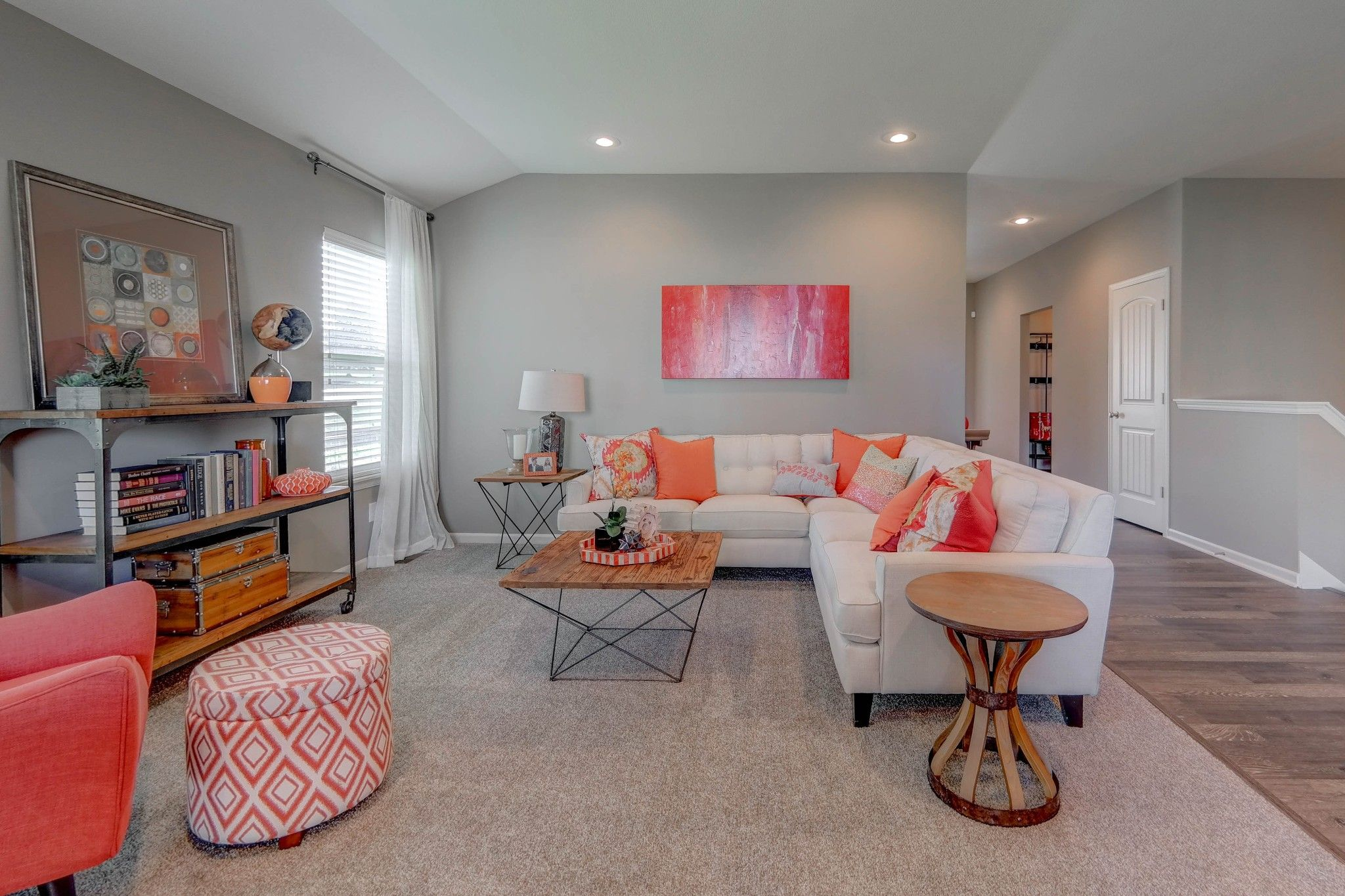 Living Area featured in the Roanoke - IA By Summit Homes in Des Moines, IA