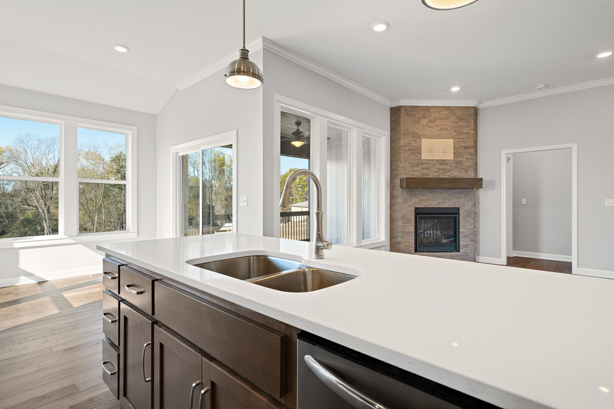 Kitchen featured in the Somerset - Care Free By Summit Homes in Kansas City, MO