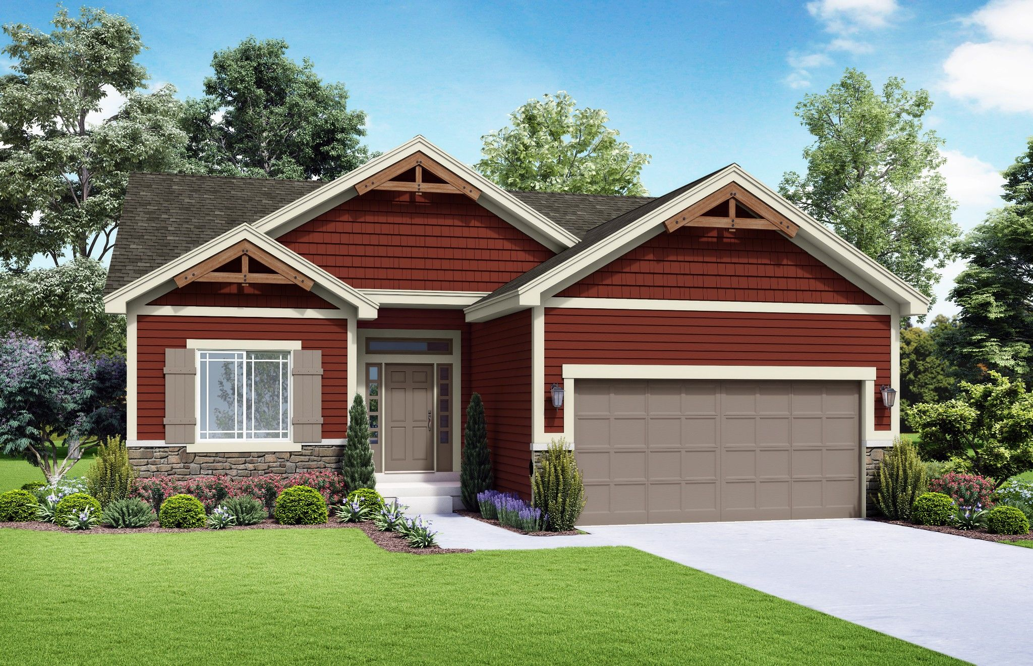 Exterior featured in the Langston - Care Free By Summit Homes in Kansas City, MO