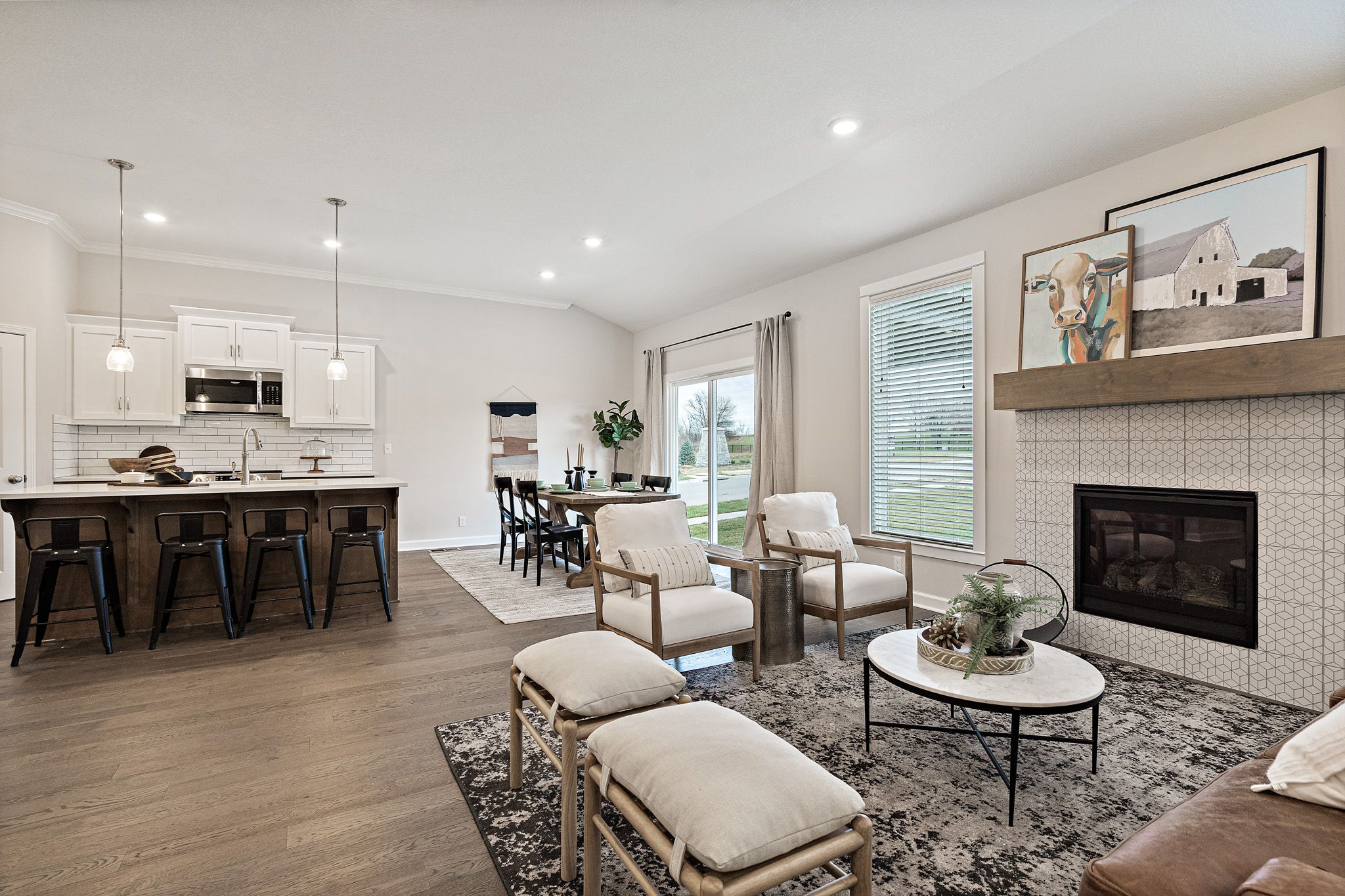 Living Area featured in the Westport - Care Free By Summit Homes in Kansas City, MO