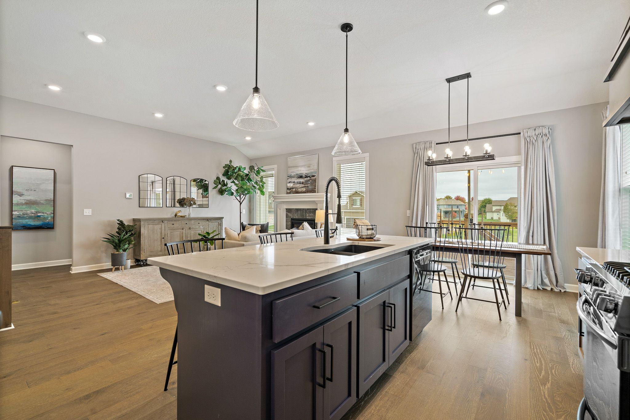Kitchen featured in the Charlotte By Summit Homes in Kansas City, MO