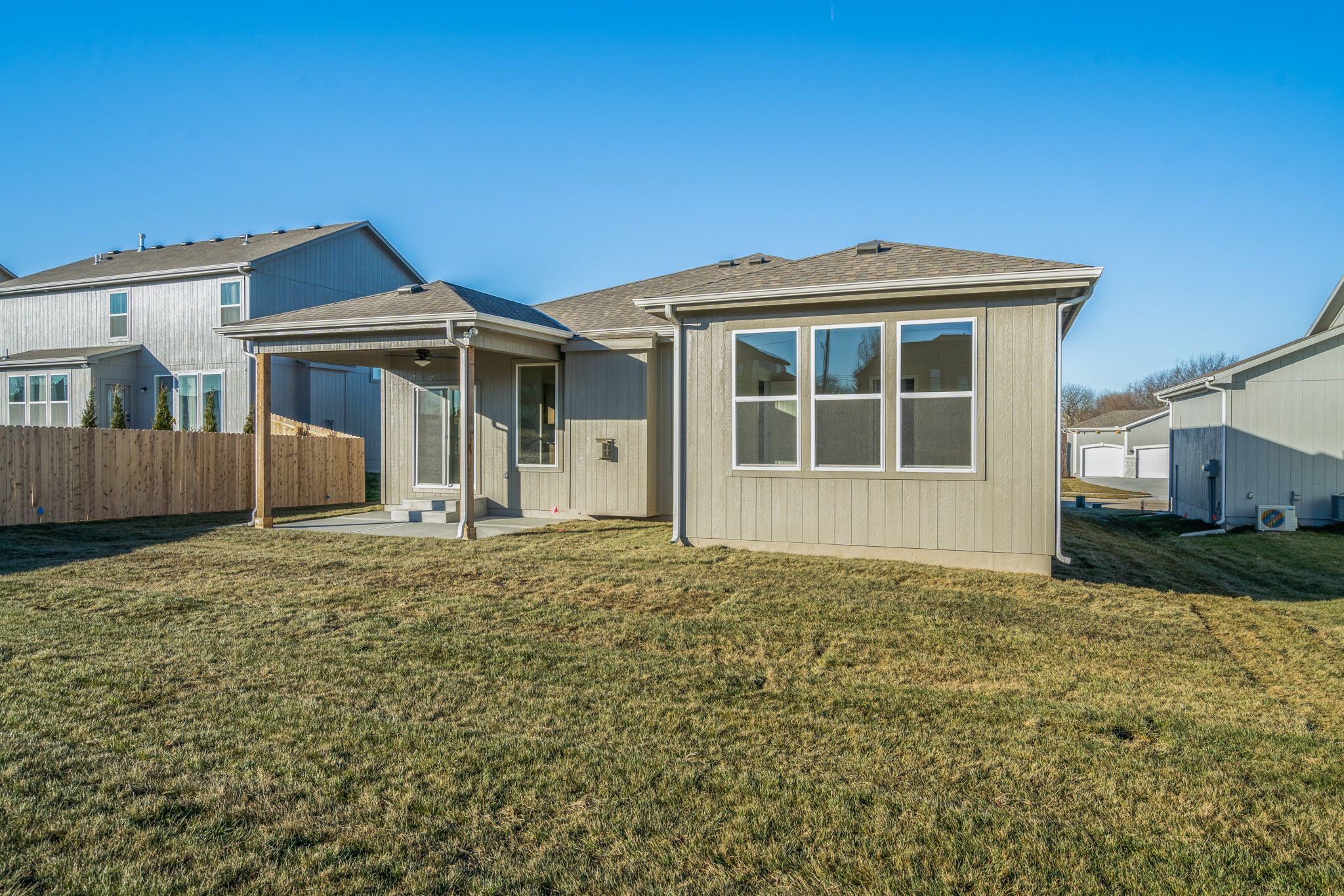Exterior featured in the Bradford - Care Free By Summit Homes in Kansas City, MO
