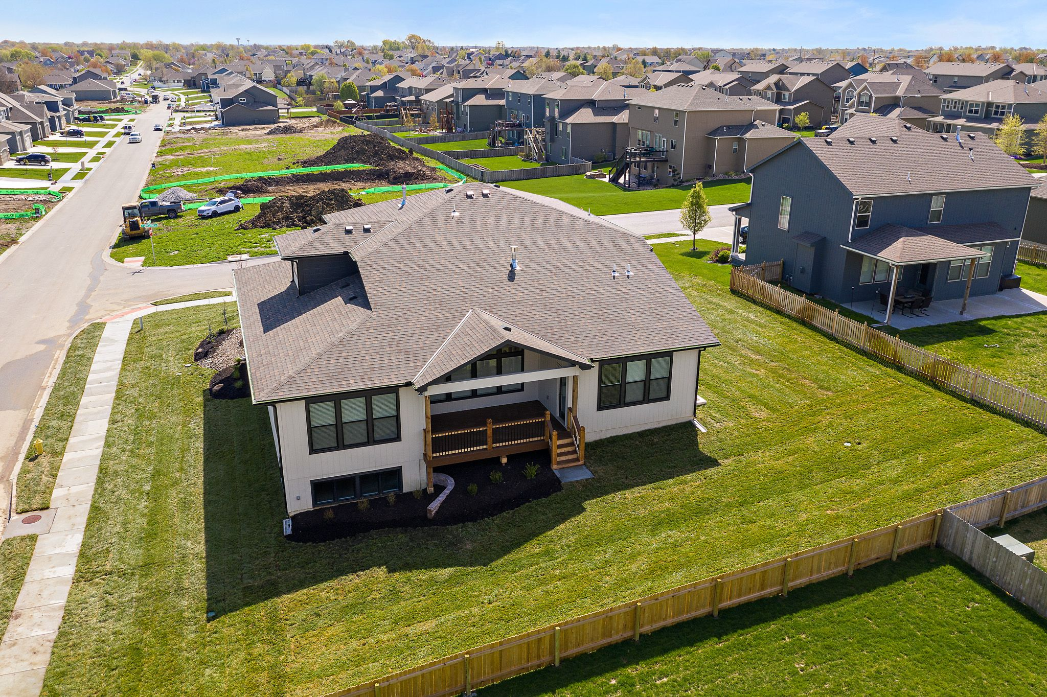 Exterior featured in the Sydney By Summit Homes in Kansas City, MO