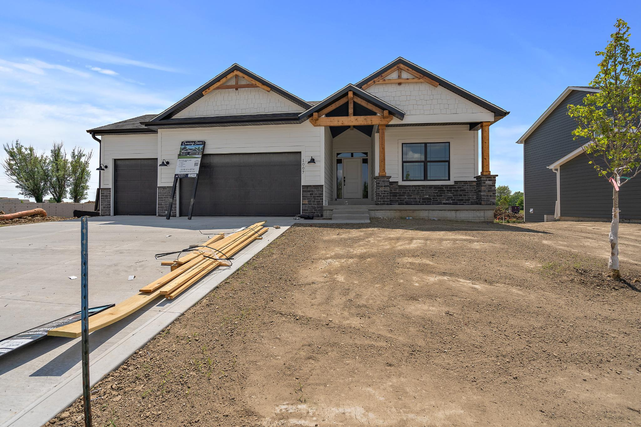 Exterior featured in the Bradford - IA By Summit Homes in Des Moines, IA