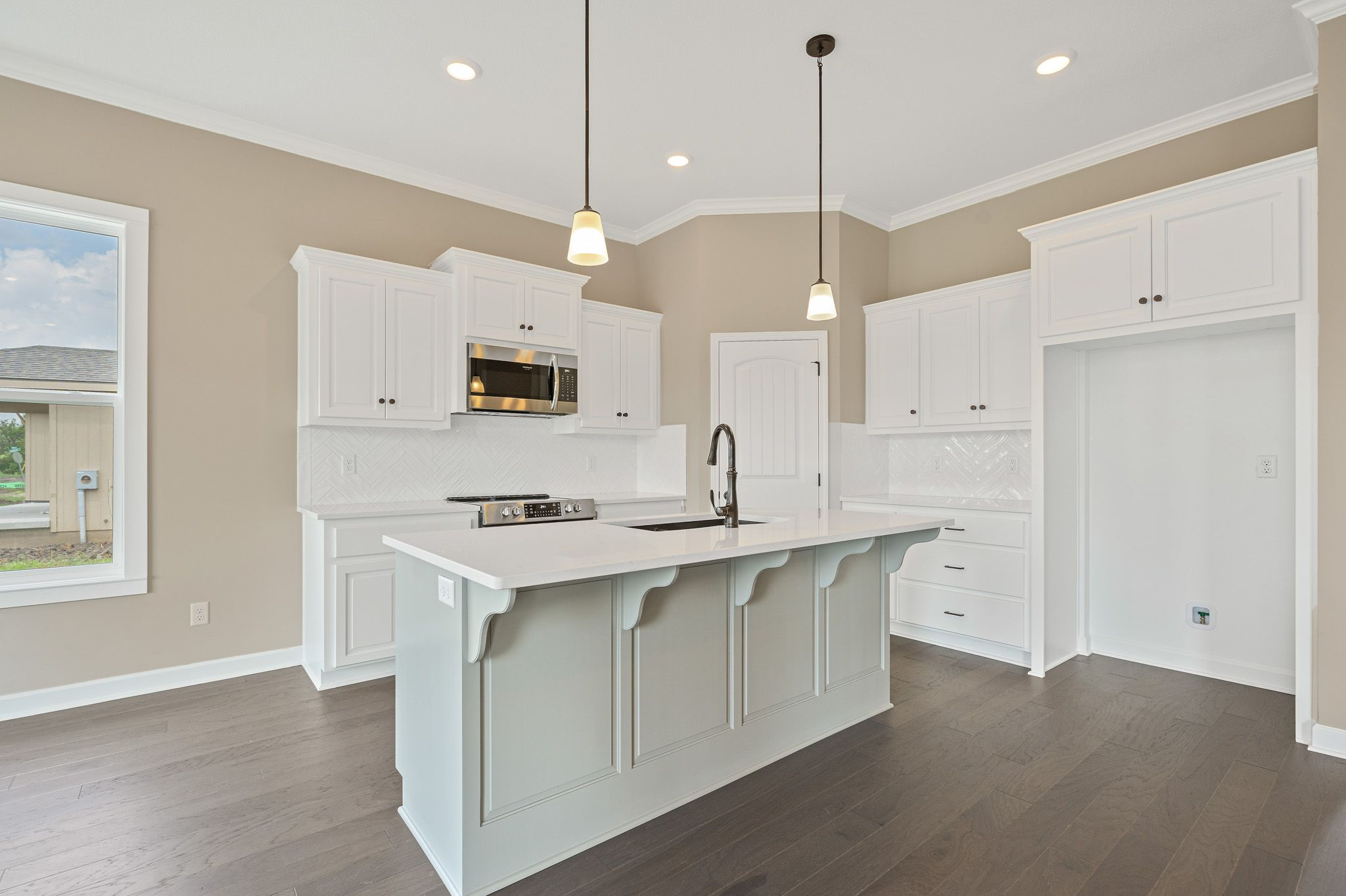 Kitchen featured in the Westport - Care Free By Summit Homes in Kansas City, KS
