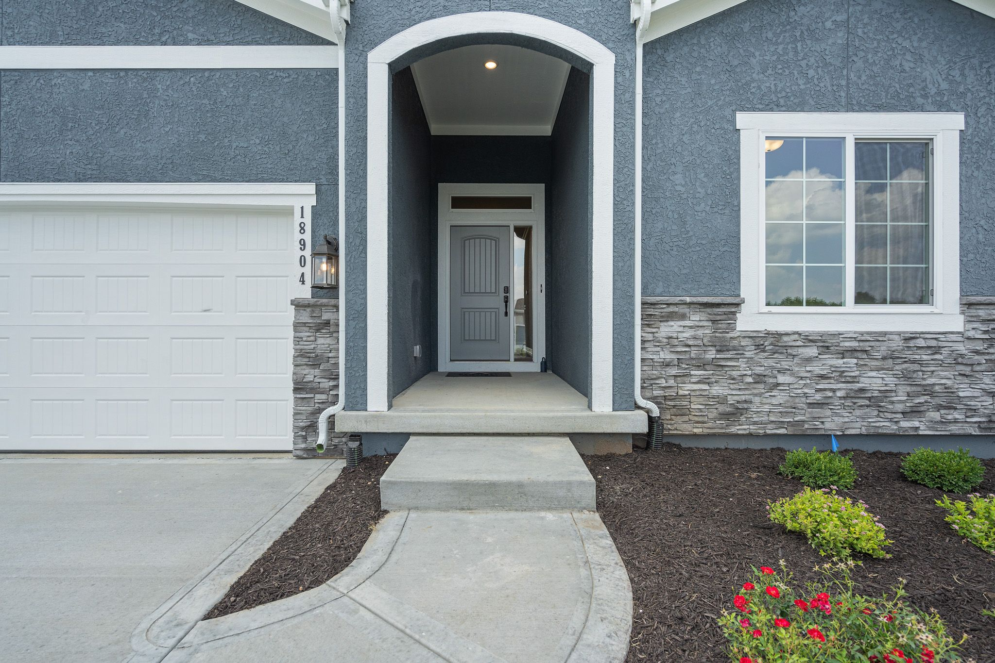 Exterior featured in the Westport - Care Free By Summit Homes in Kansas City, KS