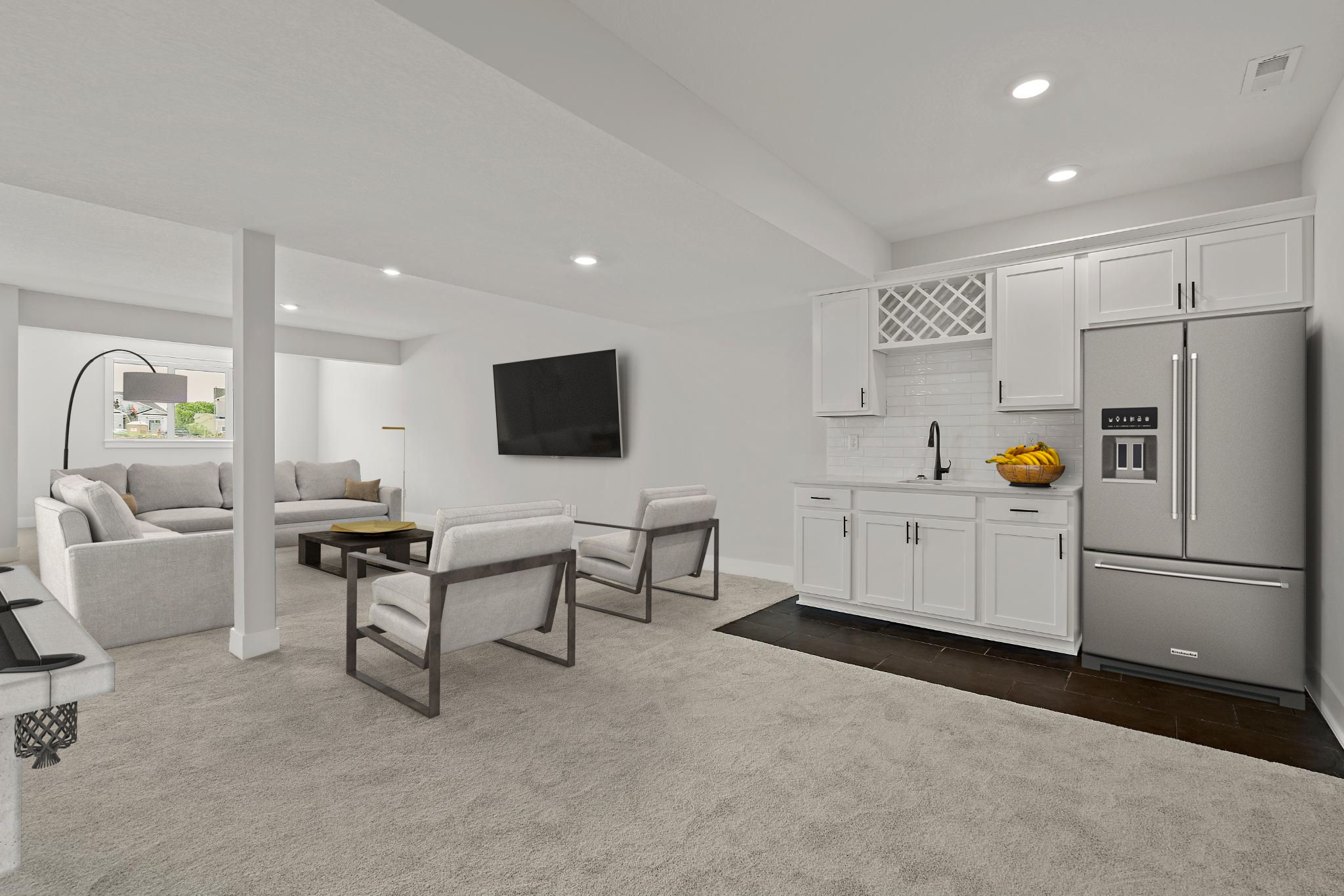 Living Area featured in the Bradford - IA By Summit Homes in Des Moines, IA