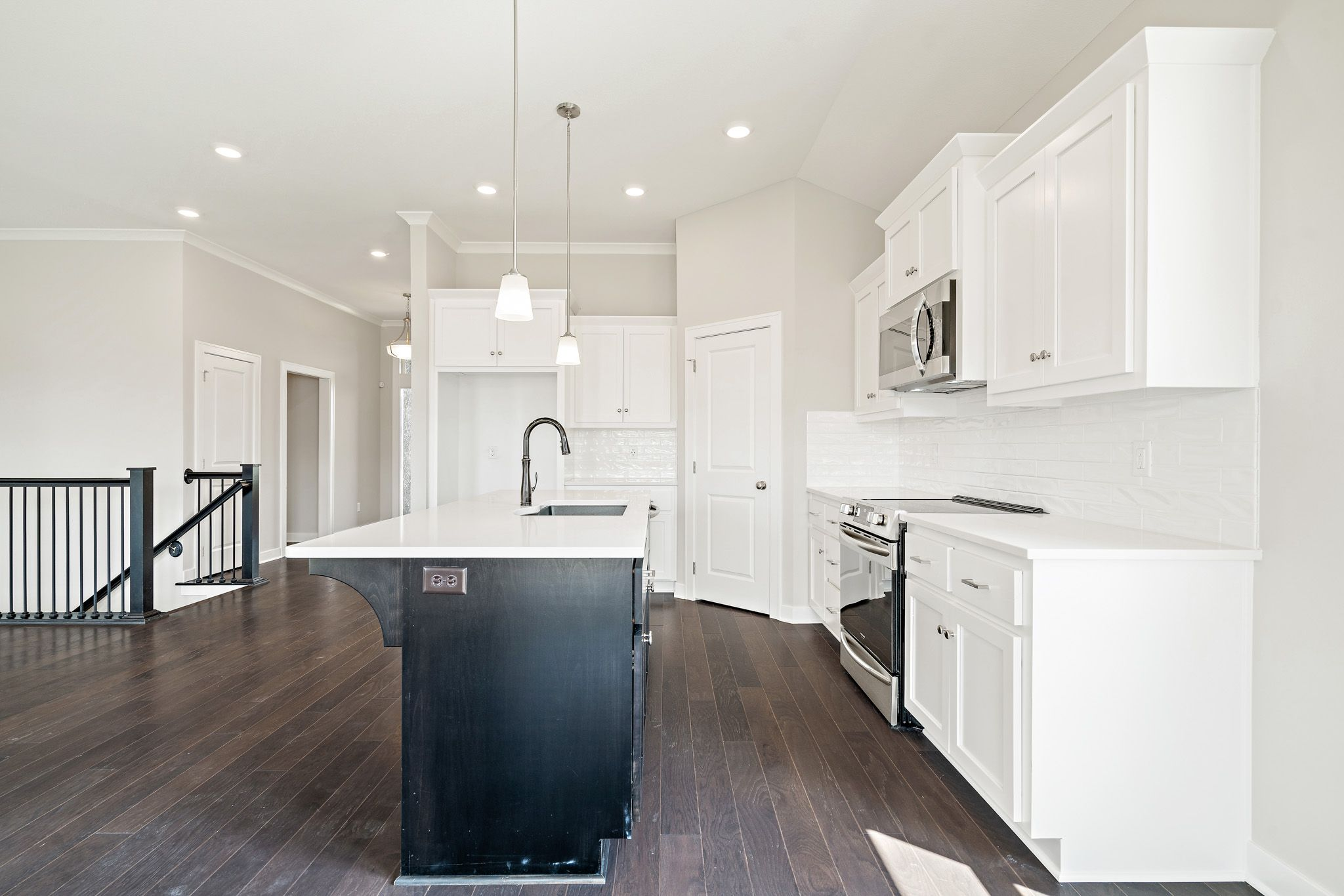 Kitchen featured in the Charlotte - Care Free By Summit Homes in Kansas City, KS