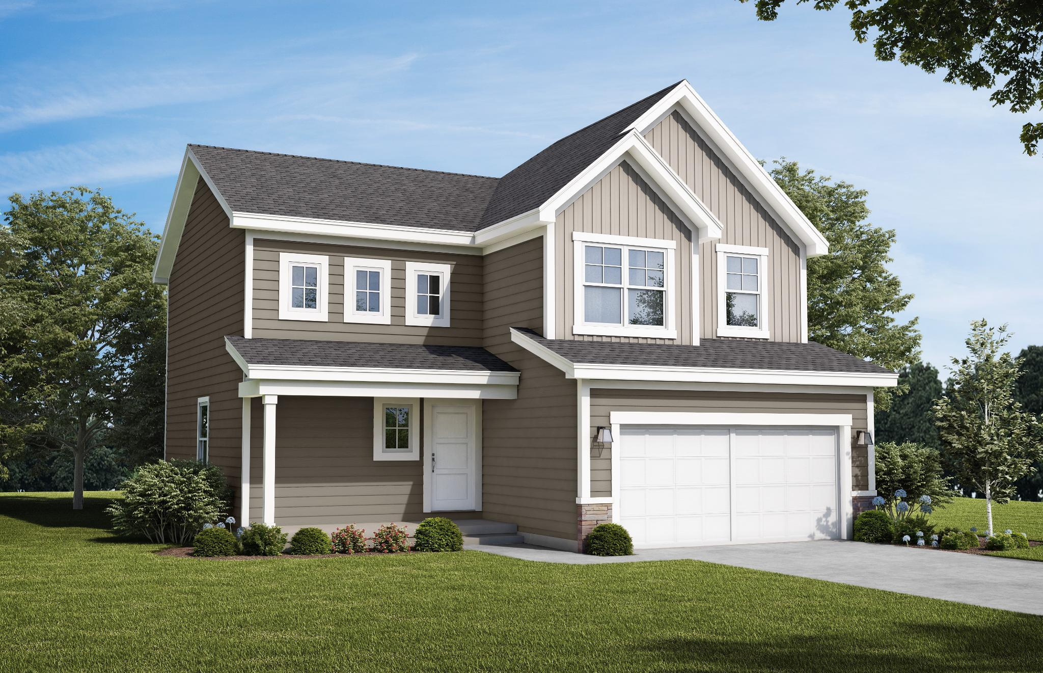 Exterior featured in the Sage - IA By Summit Homes in Des Moines, IA