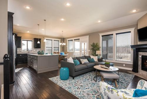 Greatroom-and-Dining-in-The Carbondale-at-North Park Village-in-Lees Summit